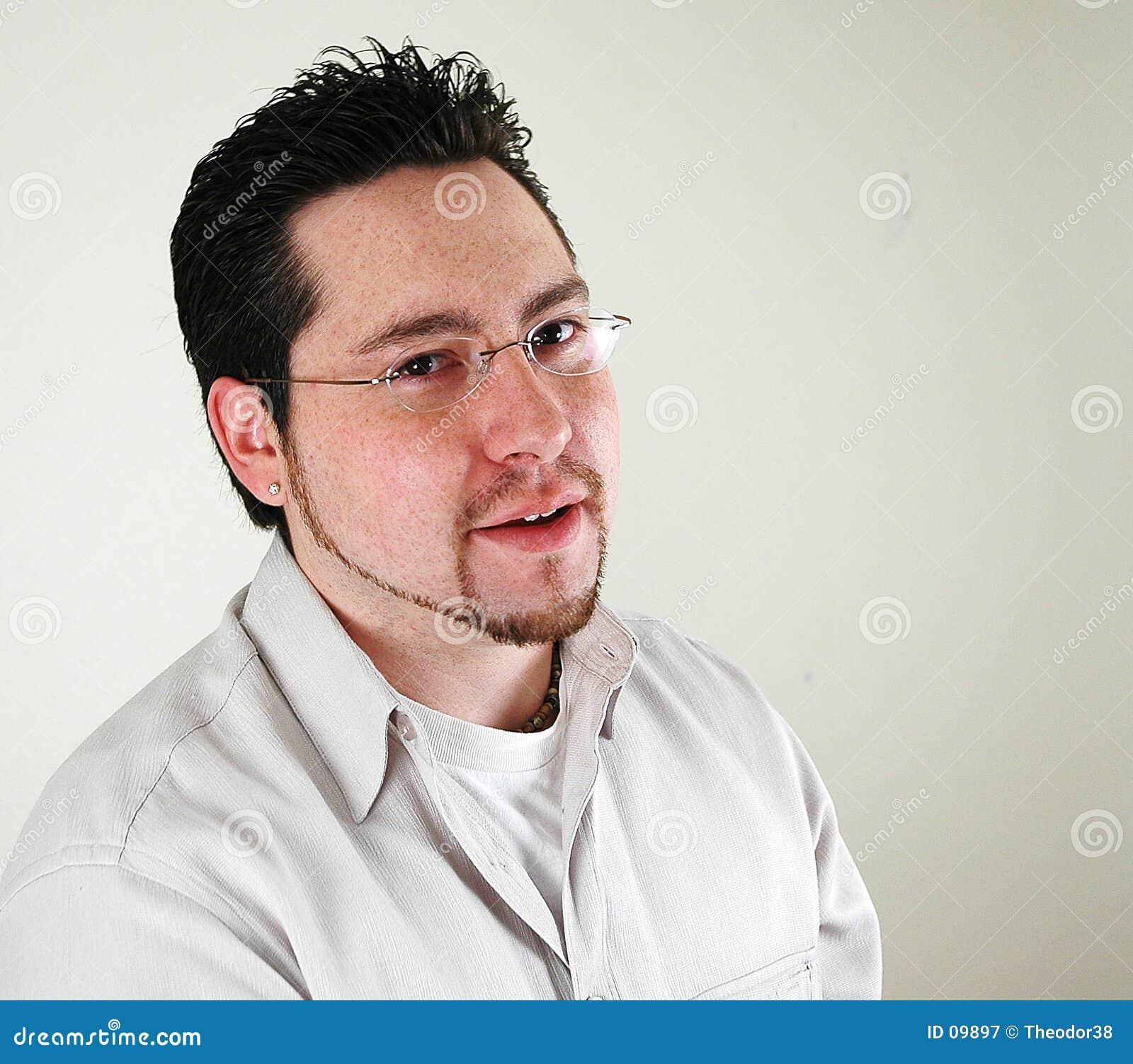 Portret biznesmena