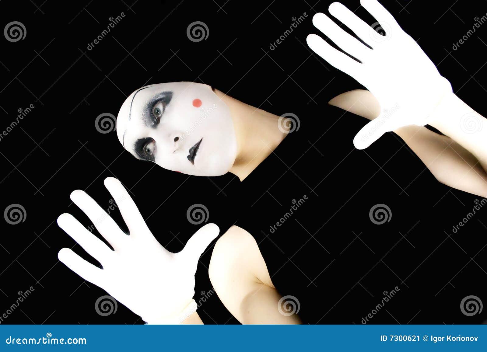 Portret del mime