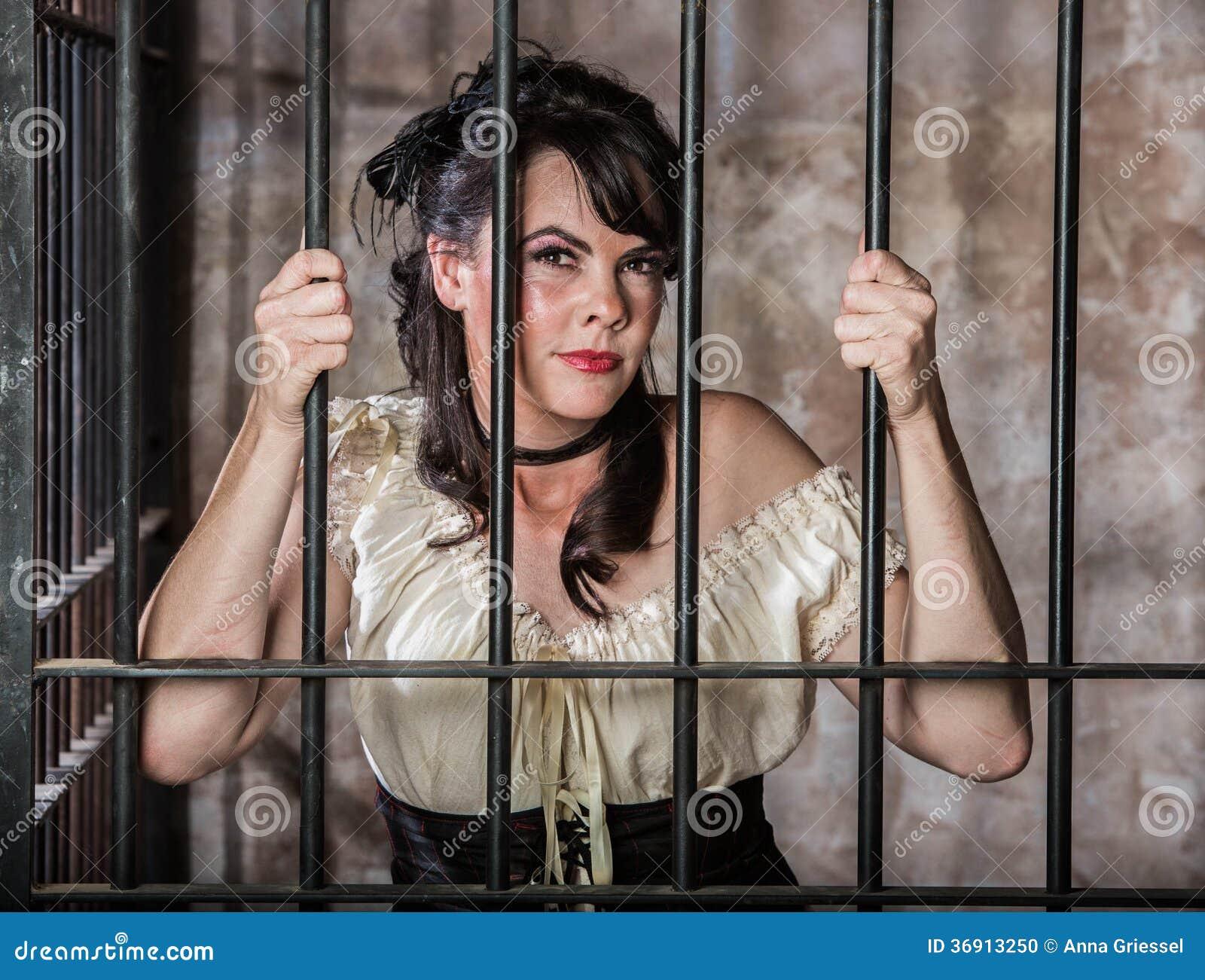 Portret Żeński więzień