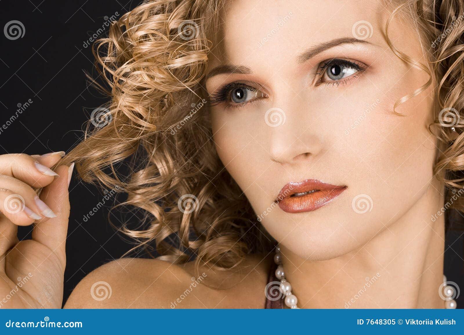 Portret kobieta cudowna