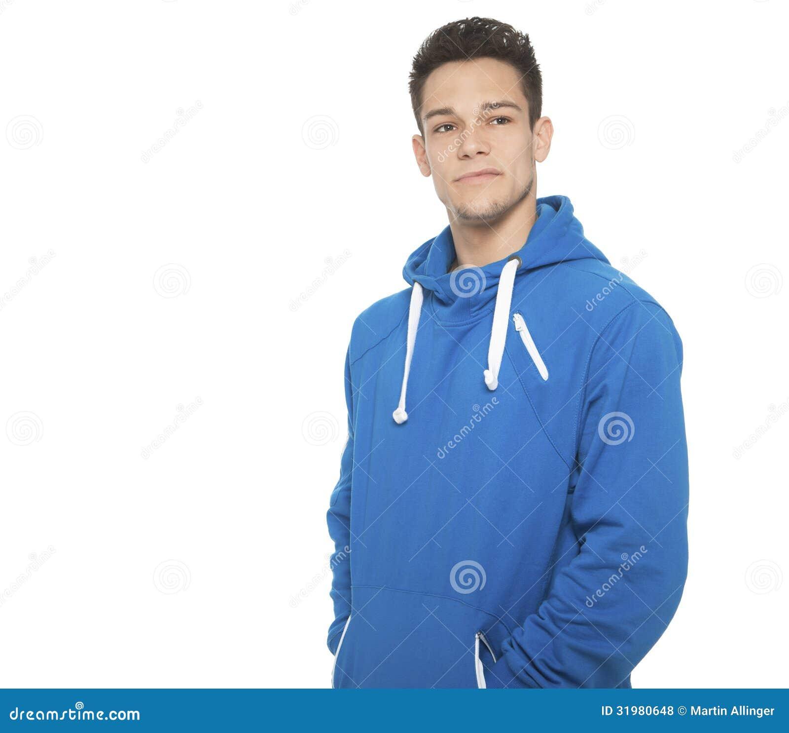 Portret młody człowiek