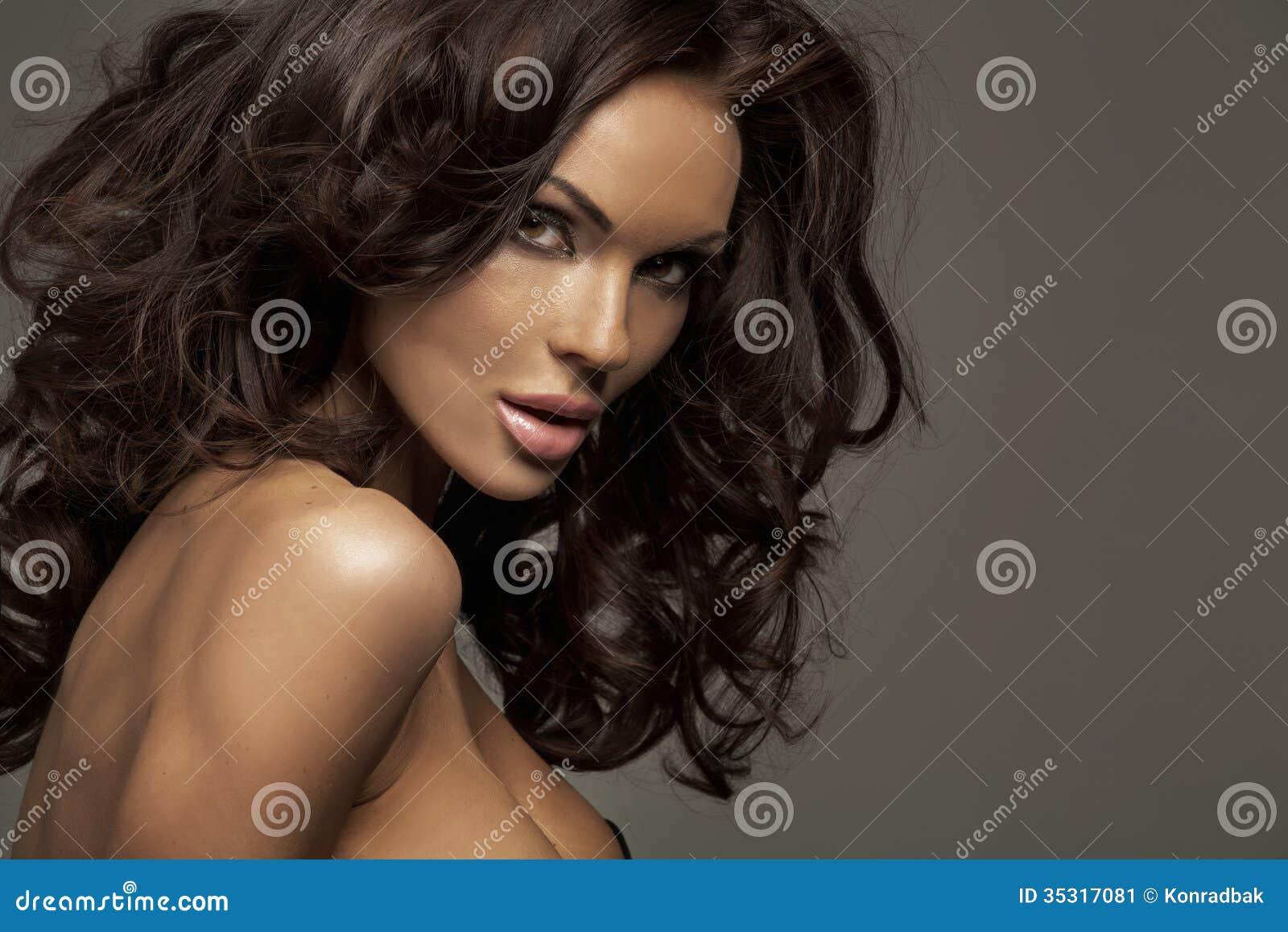 Portret perfect żeński piękno