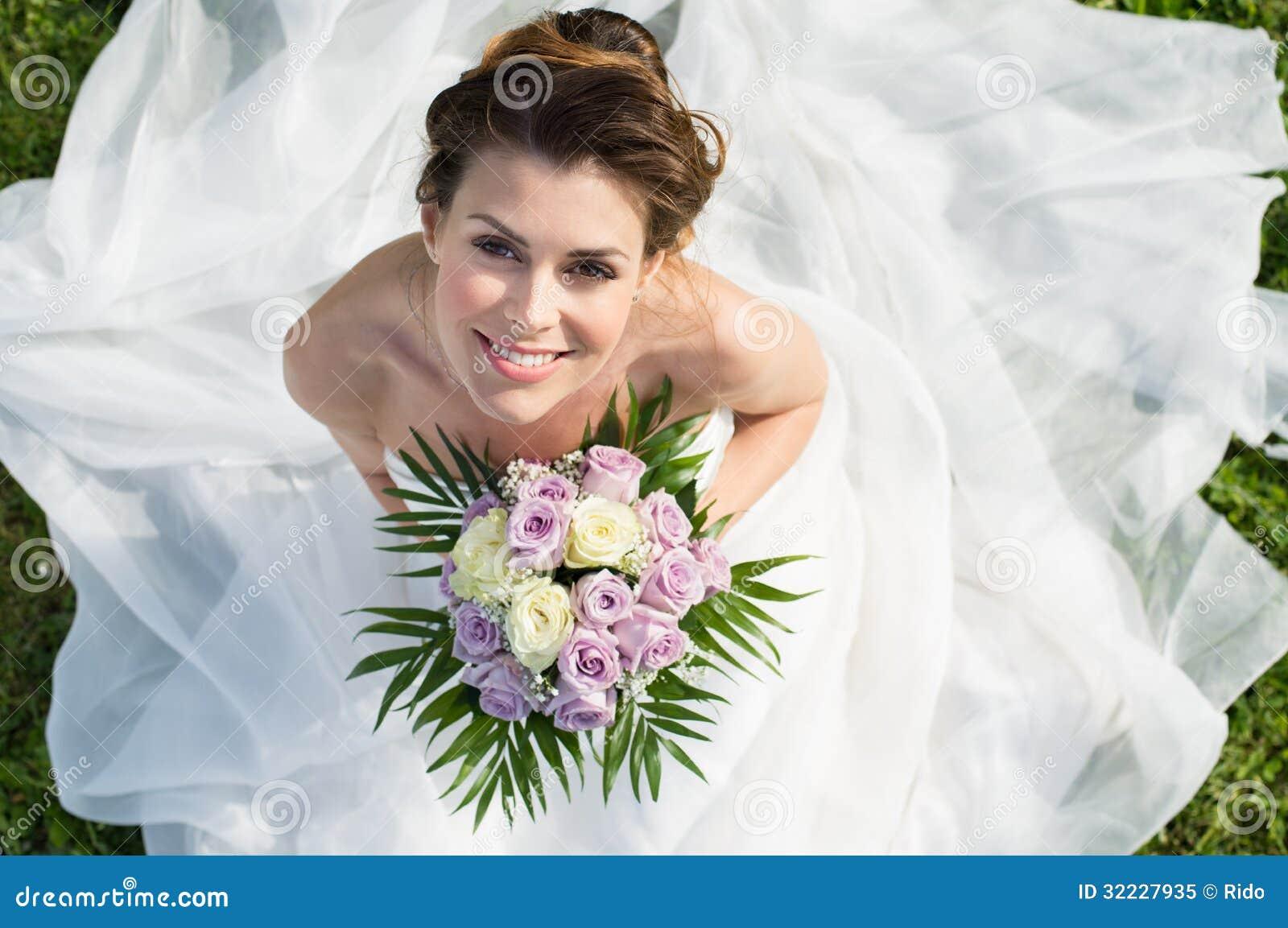 Portret Piękna panna młoda