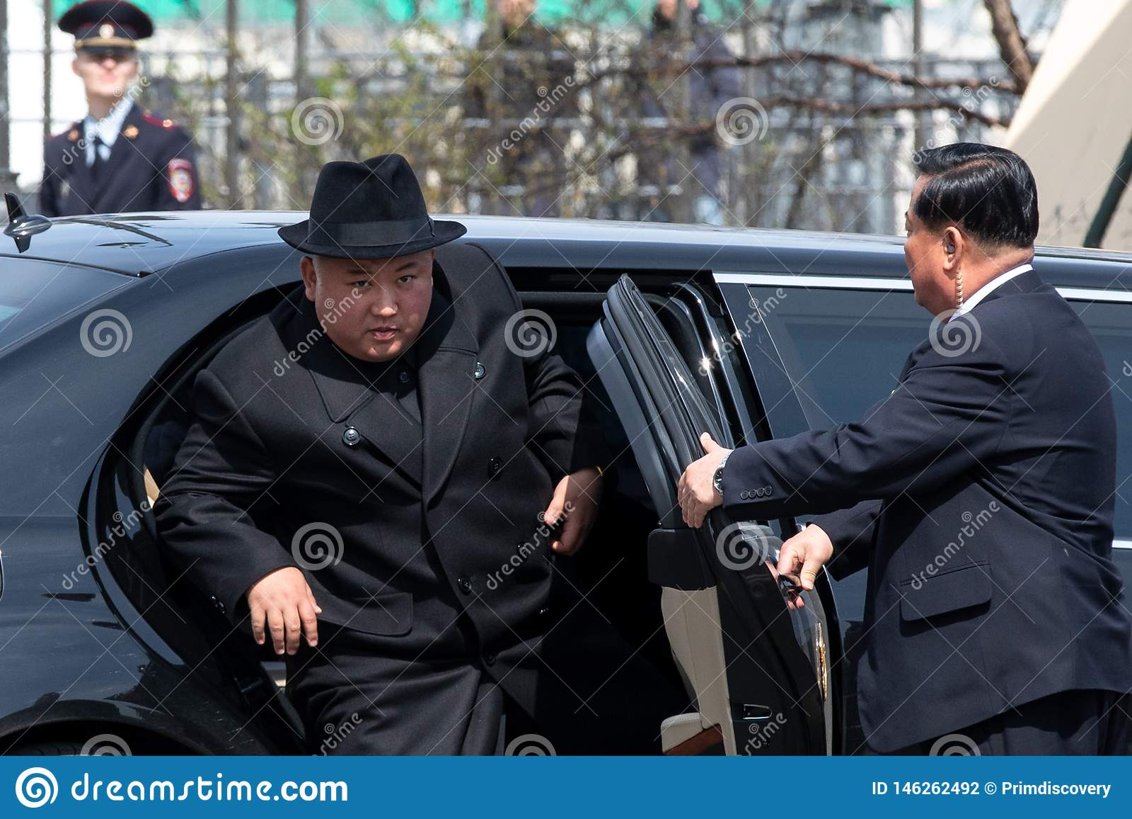 Portret sekretarka - genera? DPRK korei p??nocnej Kim Jong UN