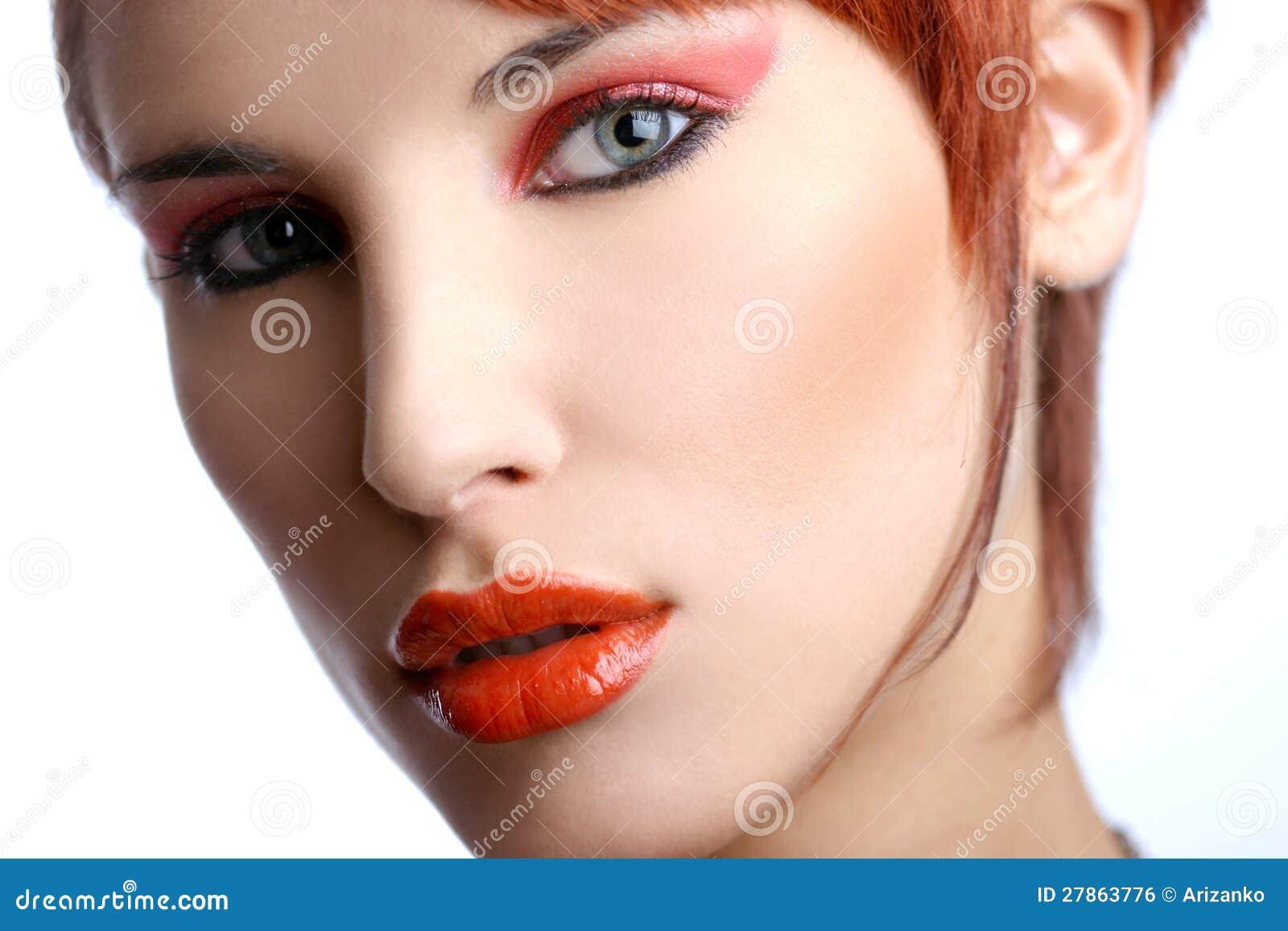 Portret seksowna młoda kobieta