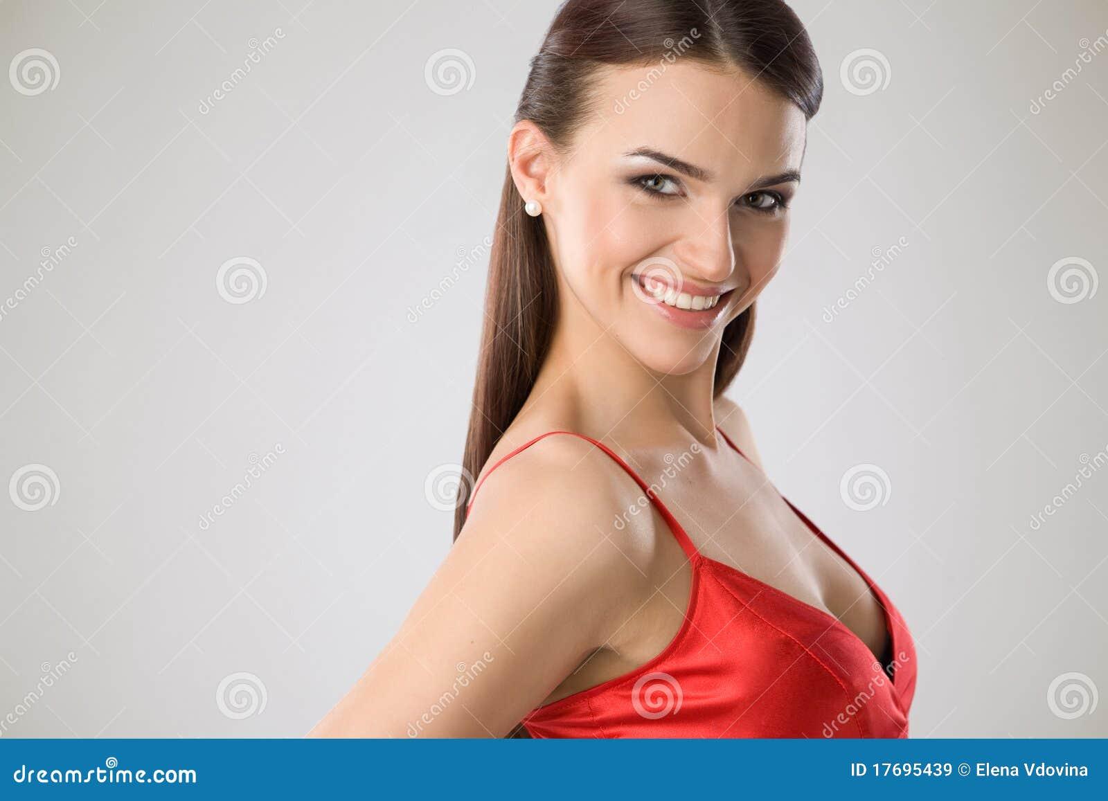 Portret szczęśliwa kobieta