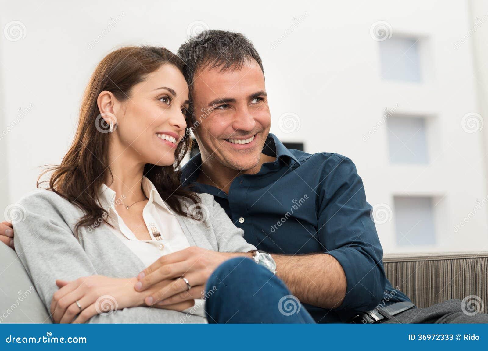 Portret Szczęśliwa para