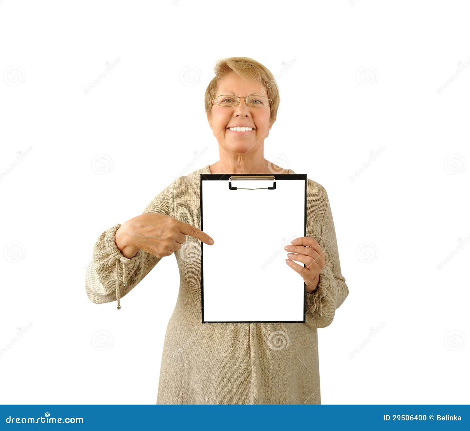 Portret van bejaarde op het wit