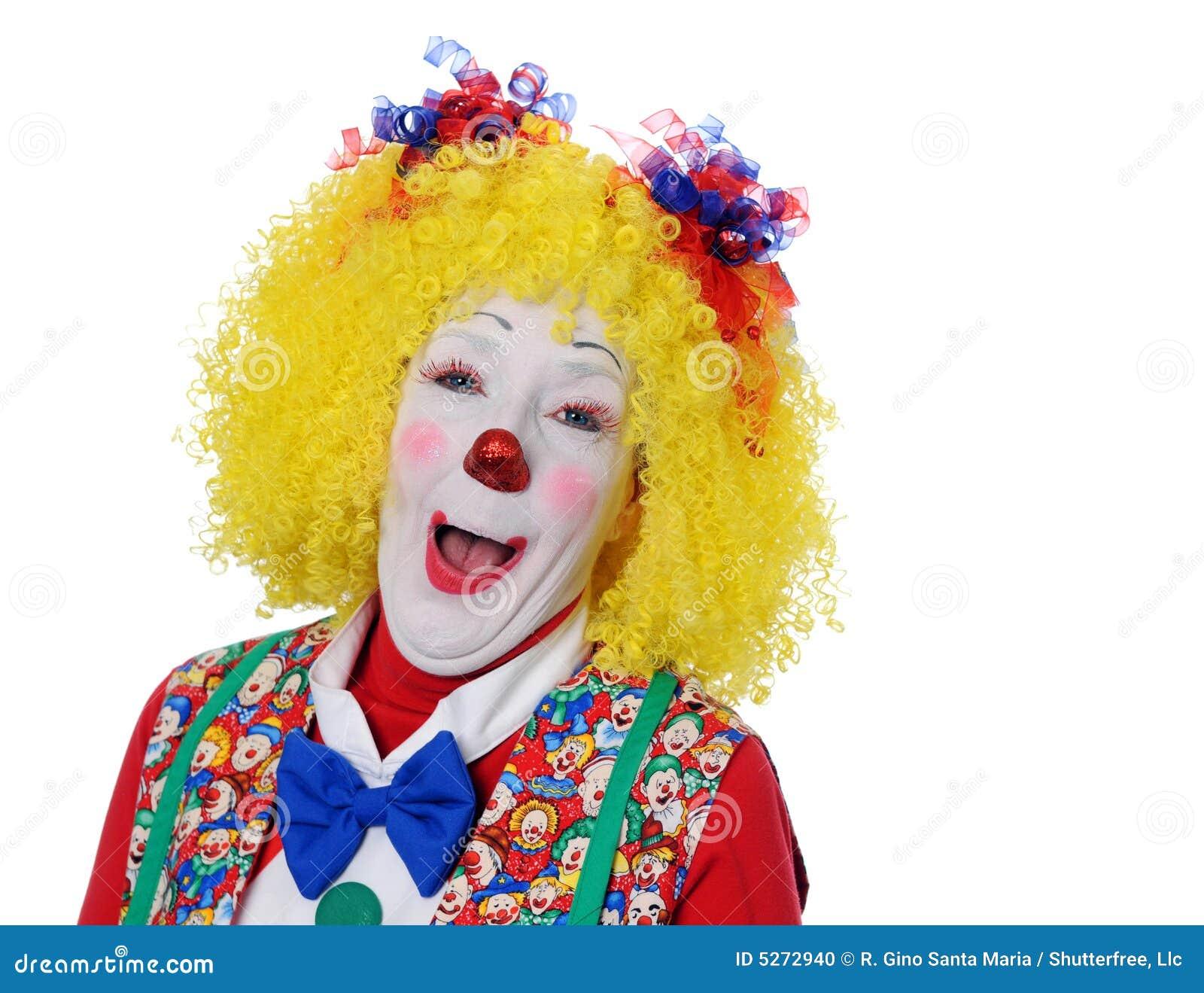 Portret van Clown