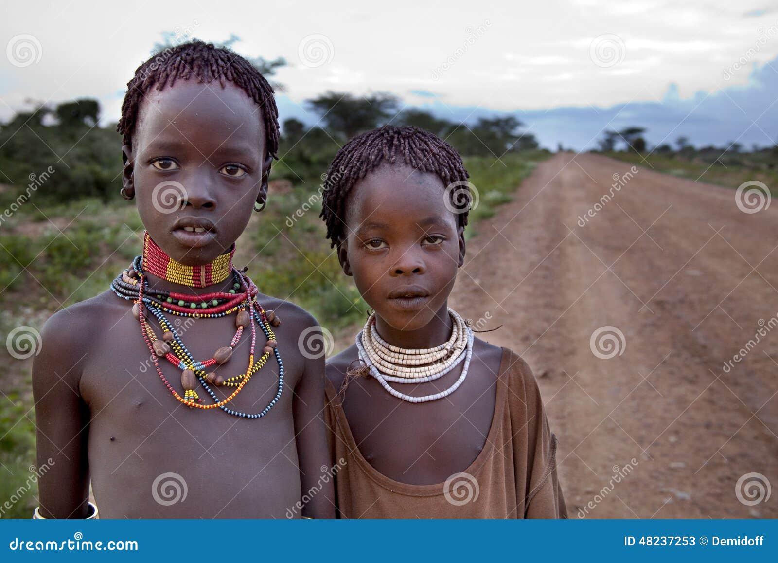 Afrikaanse zwarte meisjes