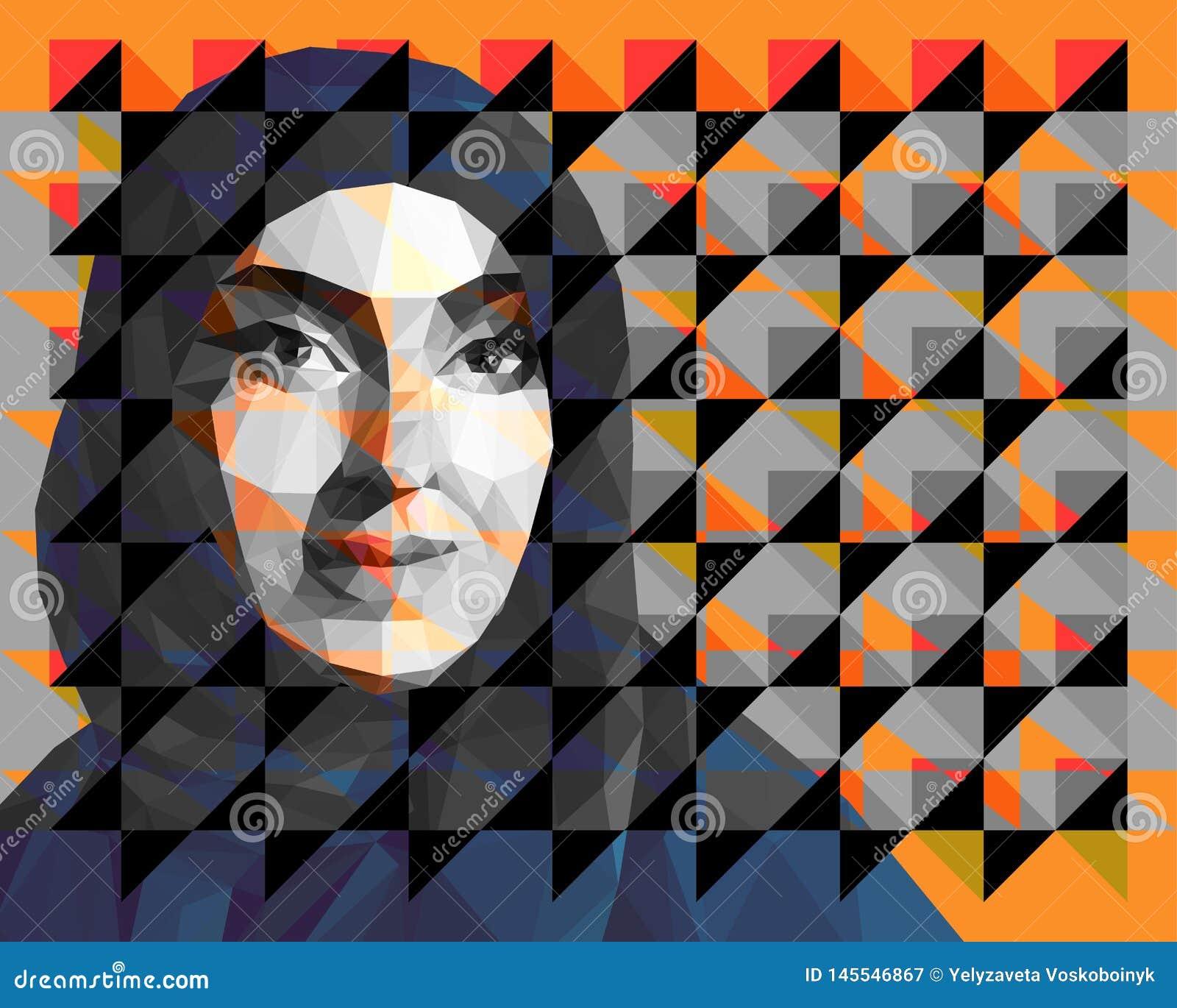 Portret van een Arabische vrouw die hijab dragen