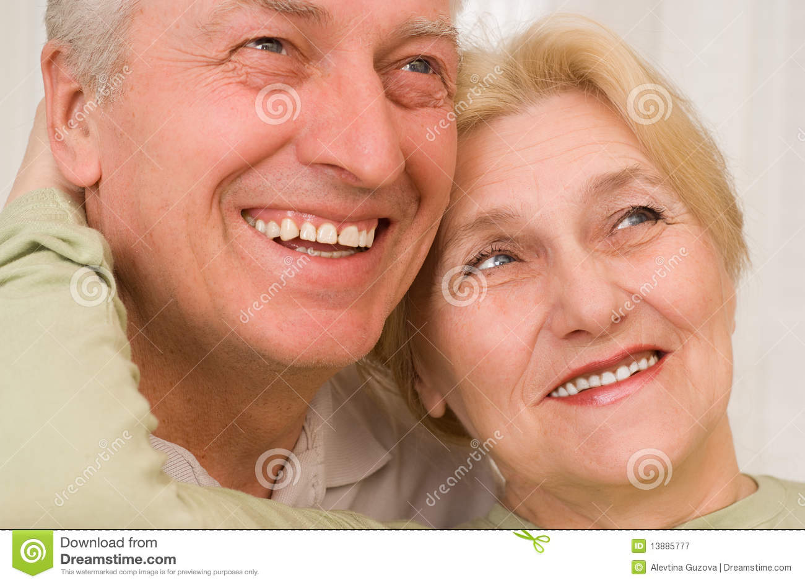 Portret van een mooi paar