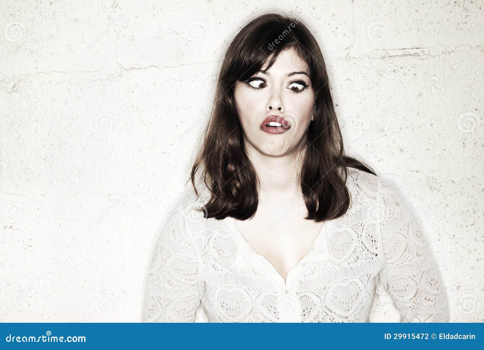 Schele verrassing in alle richtingen stock foto afbeelding 29915472 - Een mooie kamer van een mooie meid ...