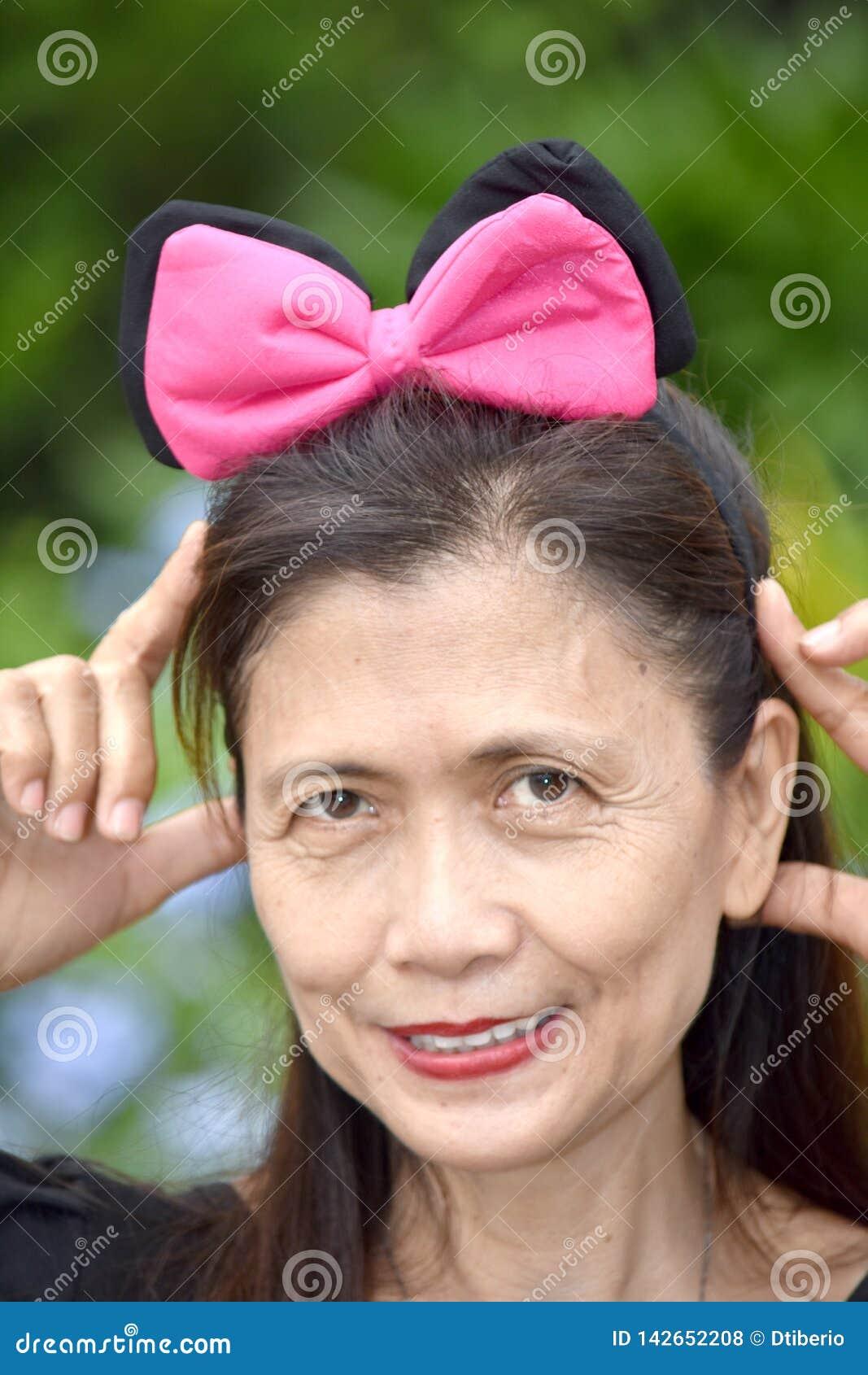 Portret van een Oudere Vrouwelijke Oudste