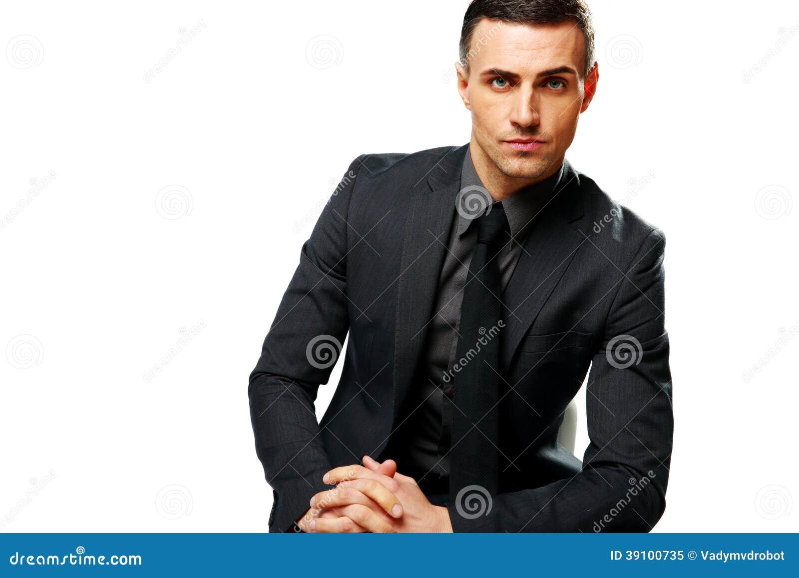 Portret van een zekere zakenman
