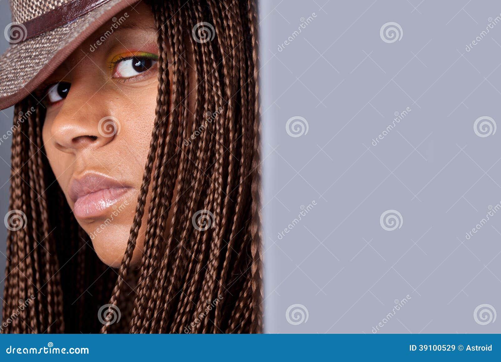 Portret van een zwarte