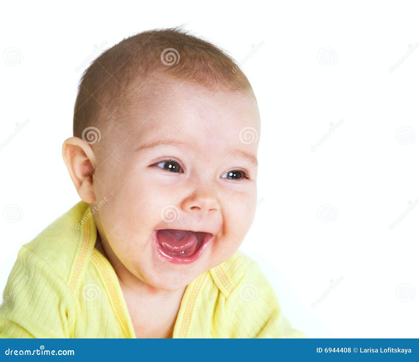 Portret van gelukkig jong geitje