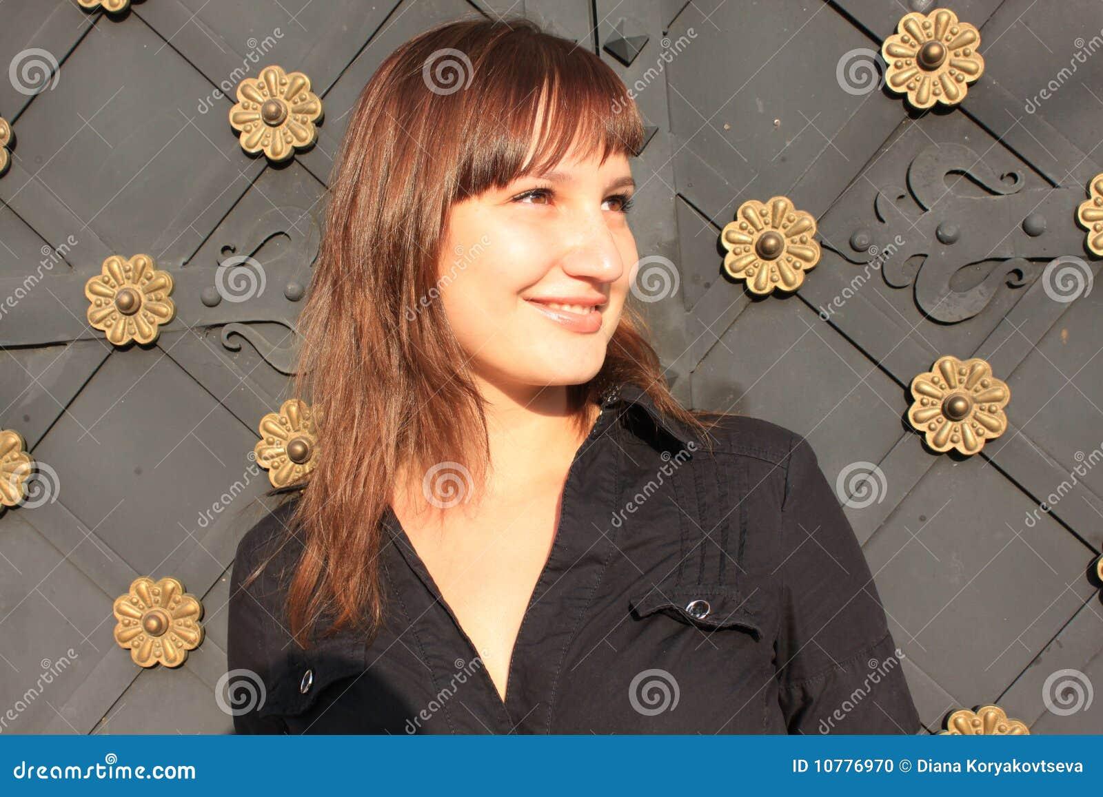 Portret van glimlachend meisje