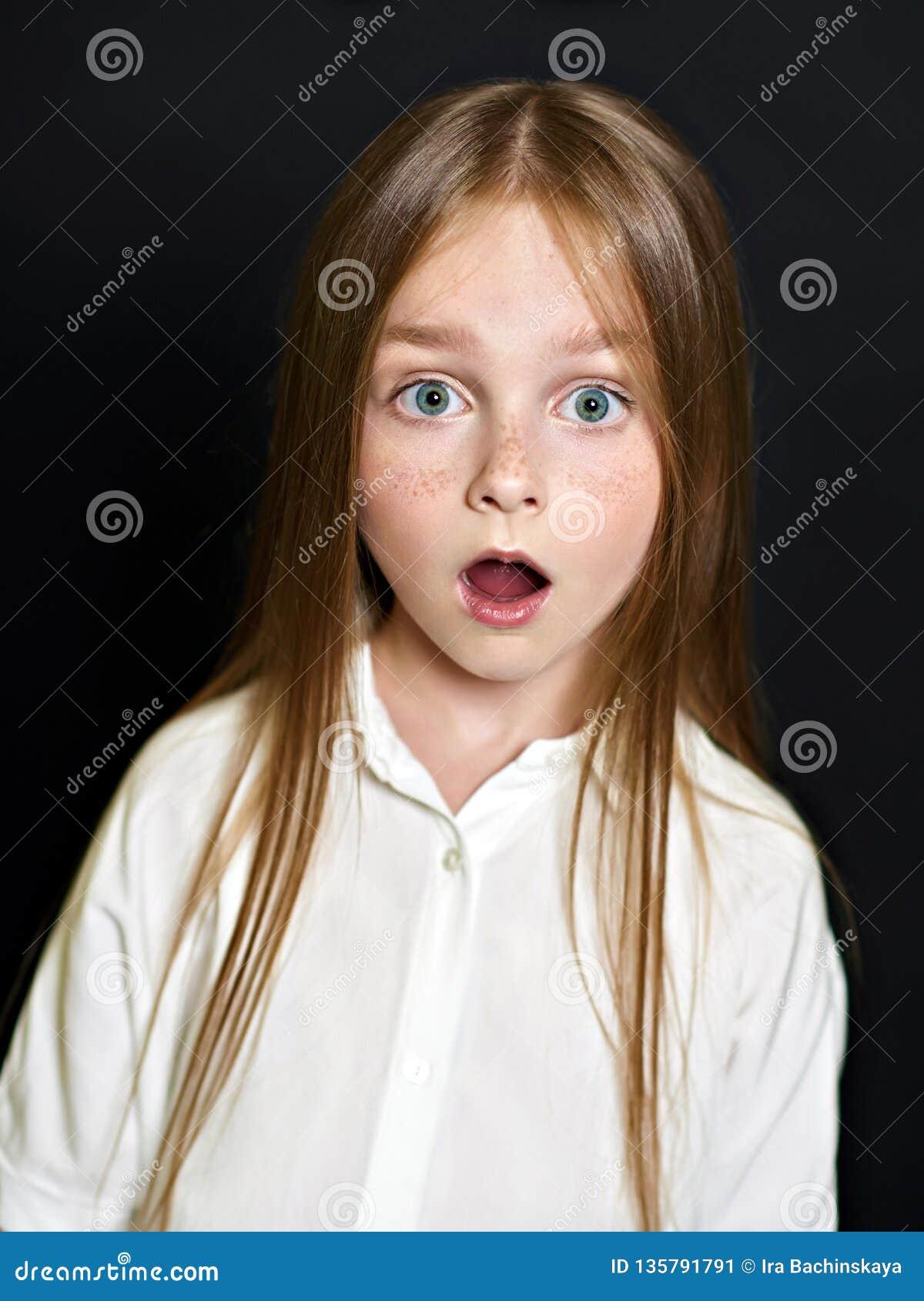 Portret van het mooie kind