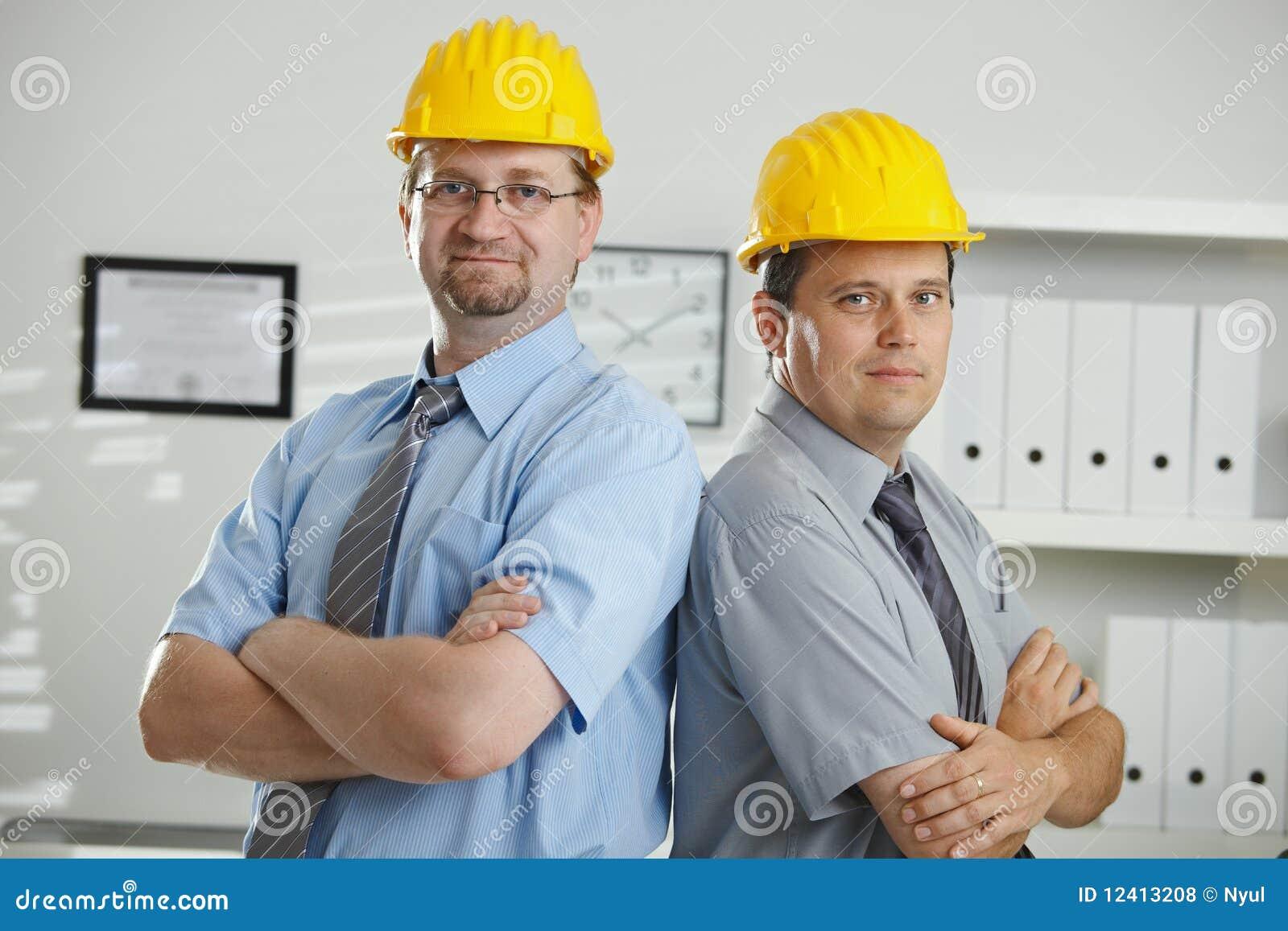 Portret van ingenieurs
