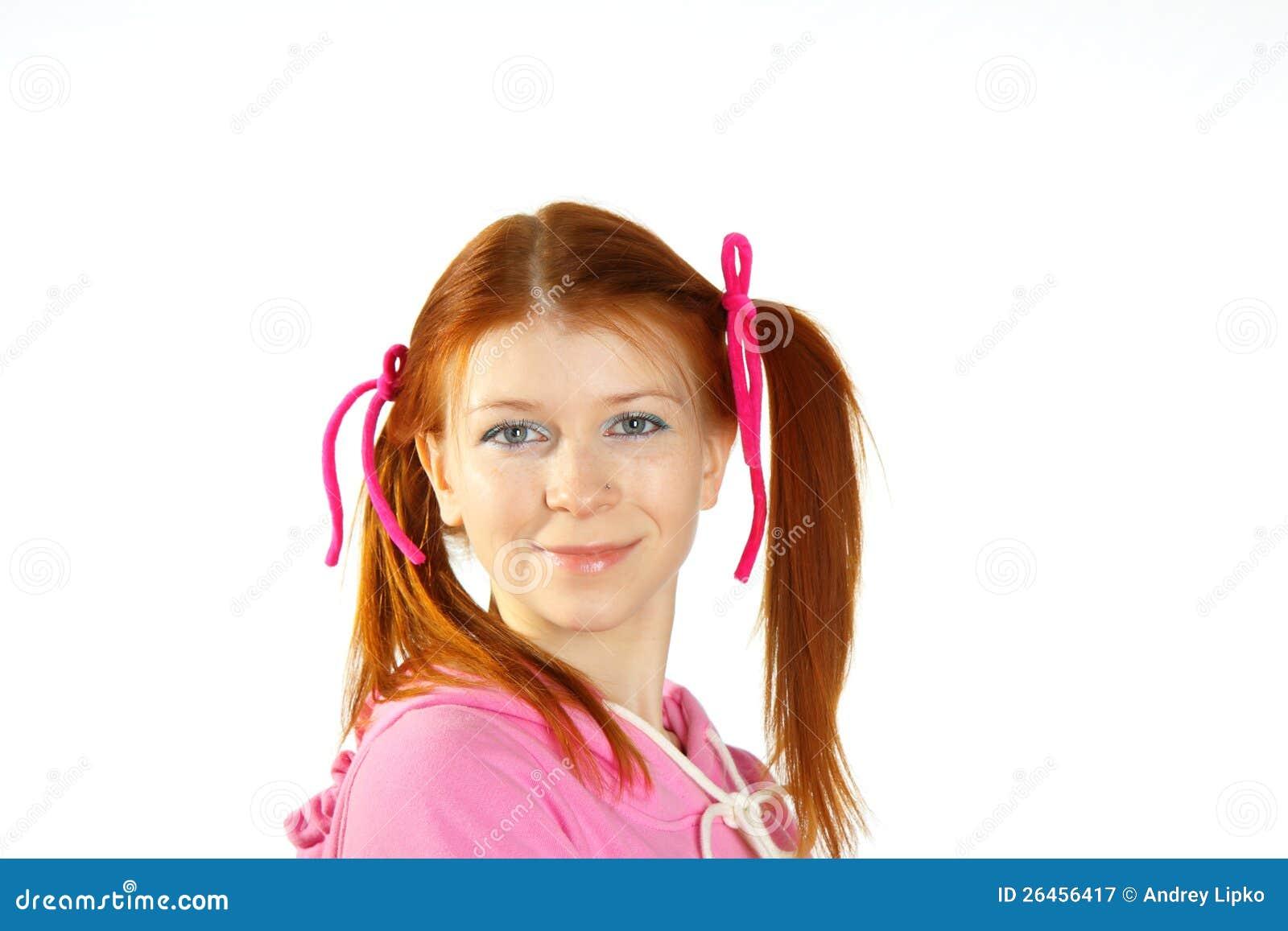 Portret van jong aantrekkelijk meisje