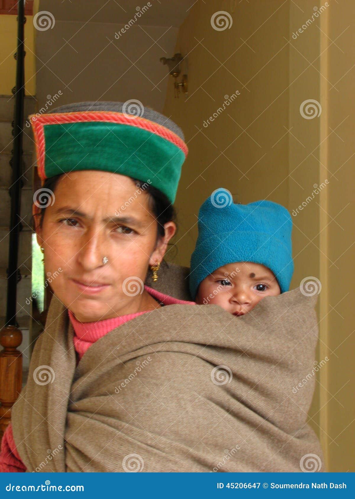 Portret van moeder en baby