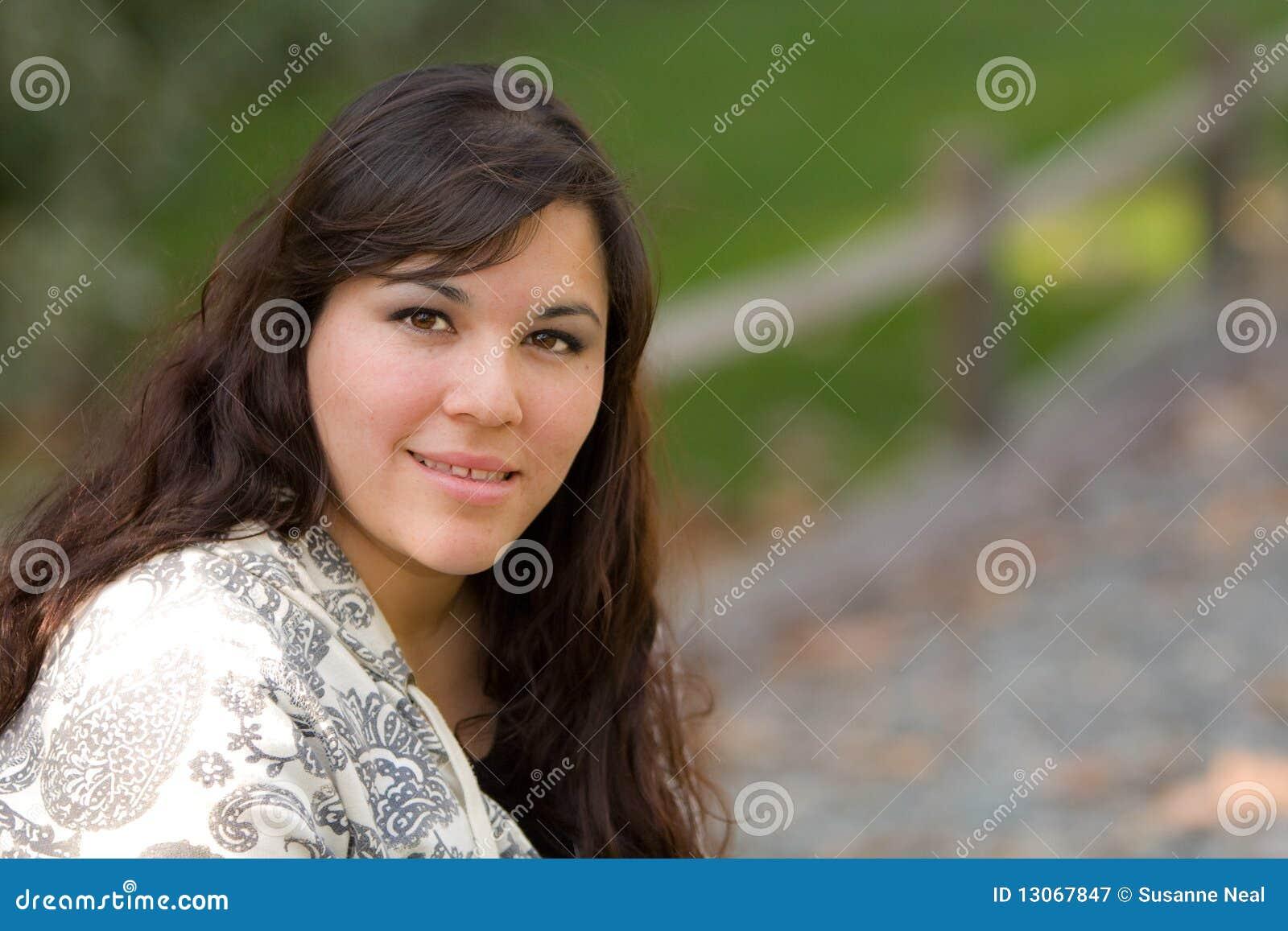 Portret van Spaanse vrouw