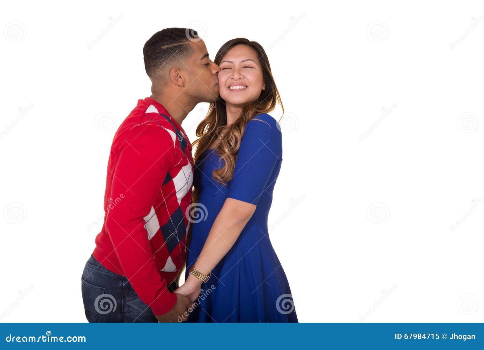 Portret well ubierająca para