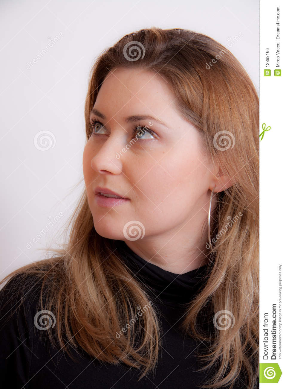 Download Portret of a woman stock photo. Image of body, pretty - 12899166