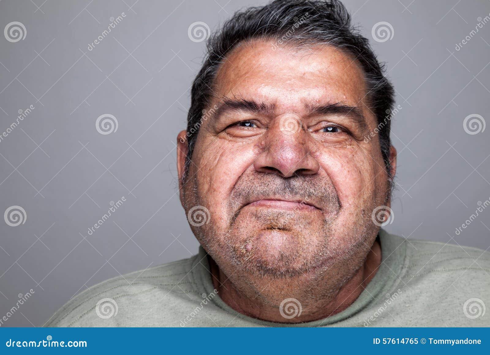 Portriat d un homme plus âgé