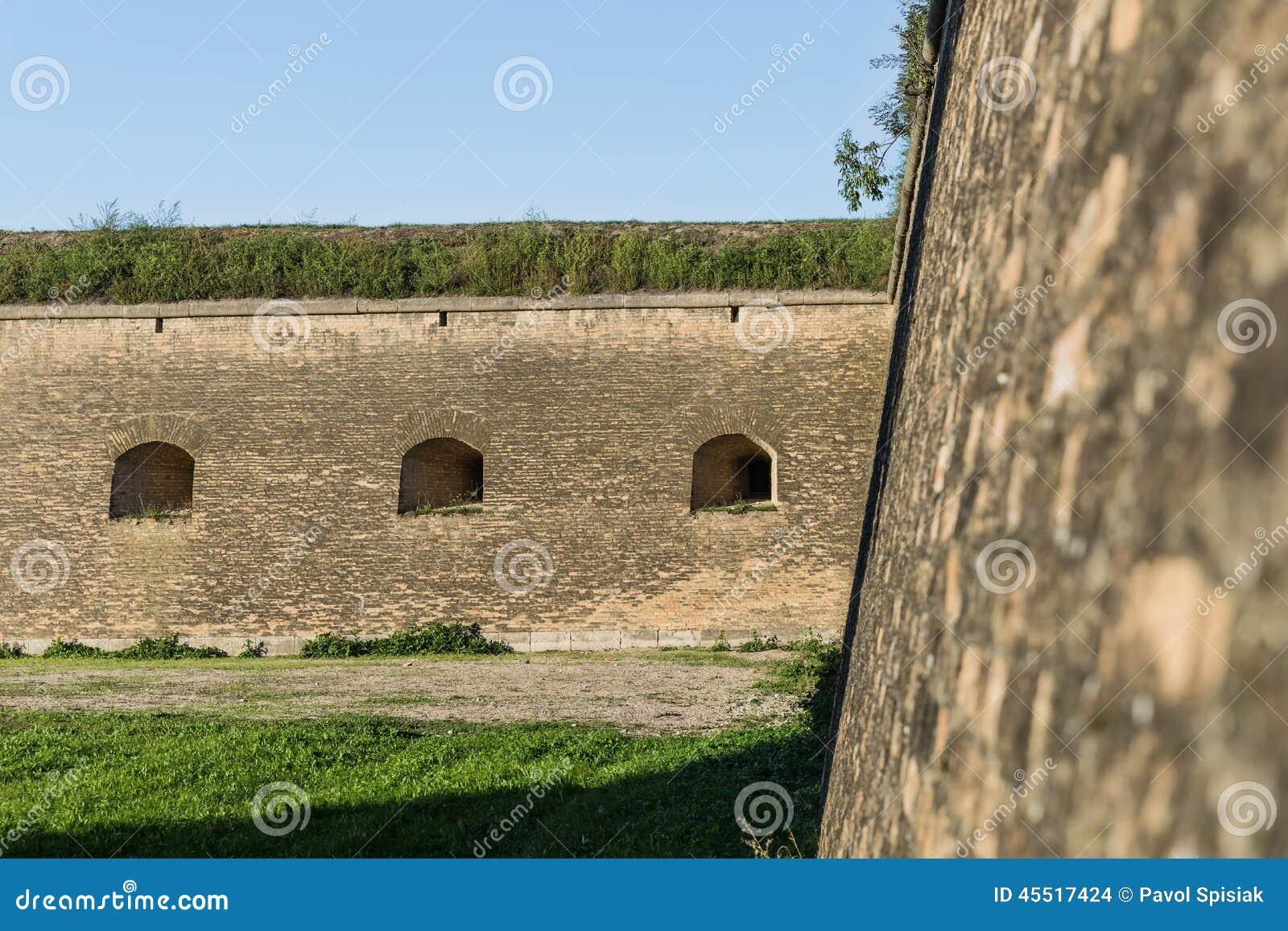 Ports d arme à feu dans la forteresse
