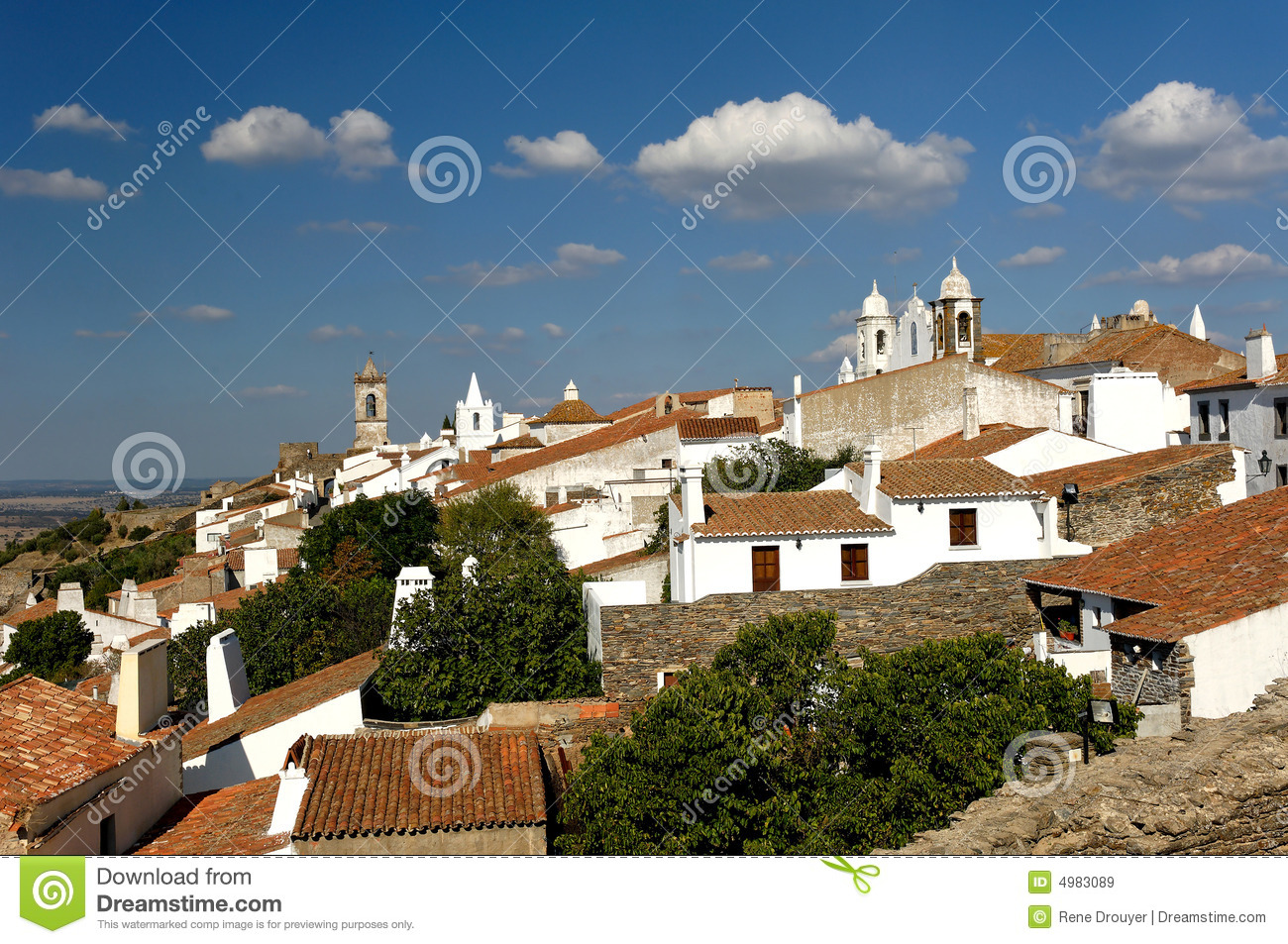 Portugal, Alentejo: village of Monsaraz