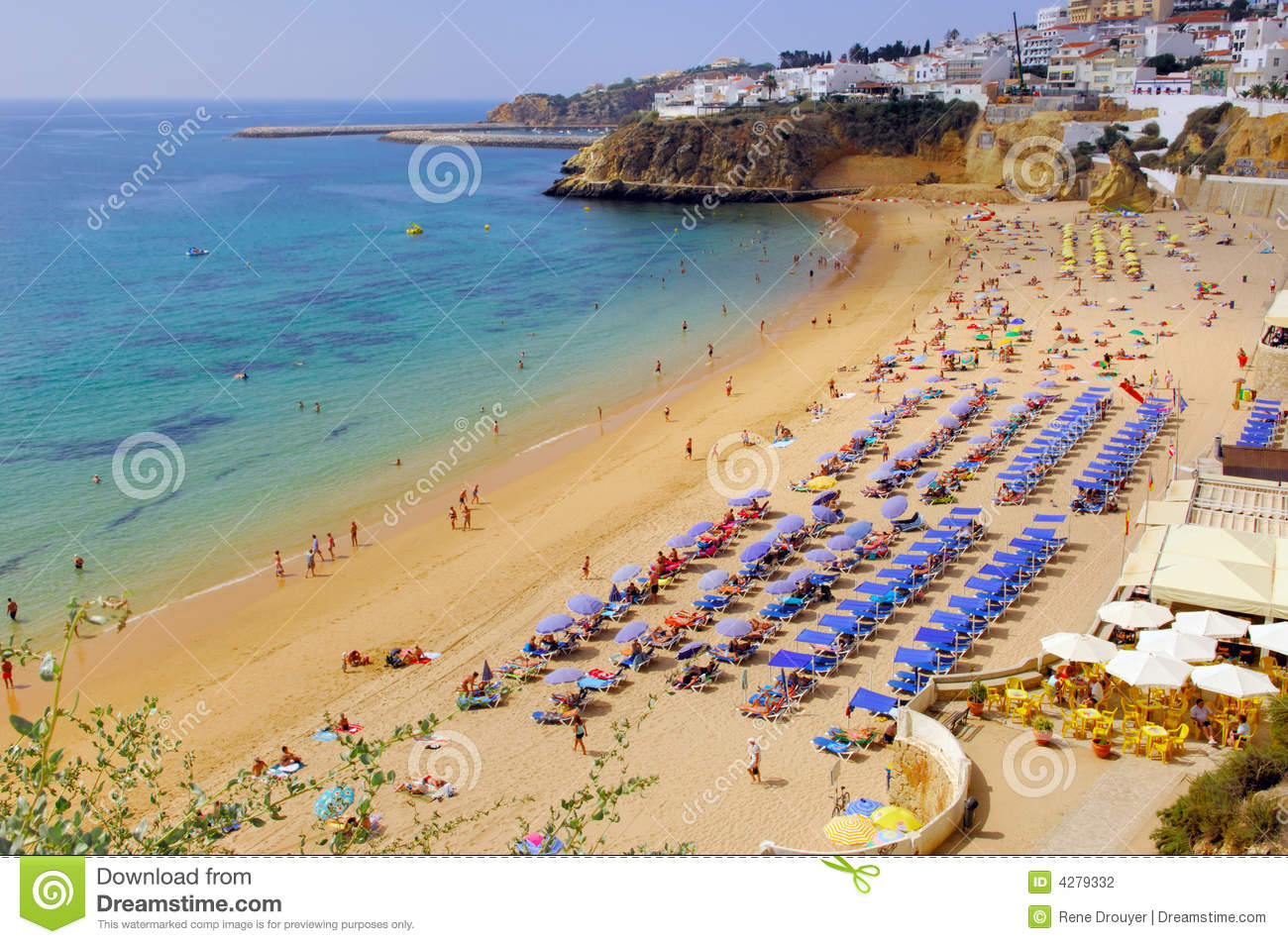 Portugal, area of Algarve, Albufeira: beach