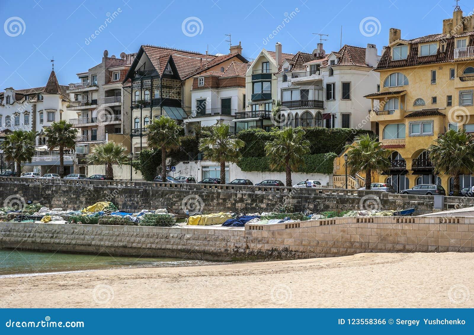 Portugal Cascais - cidade e porto situados não longe de Lisboa