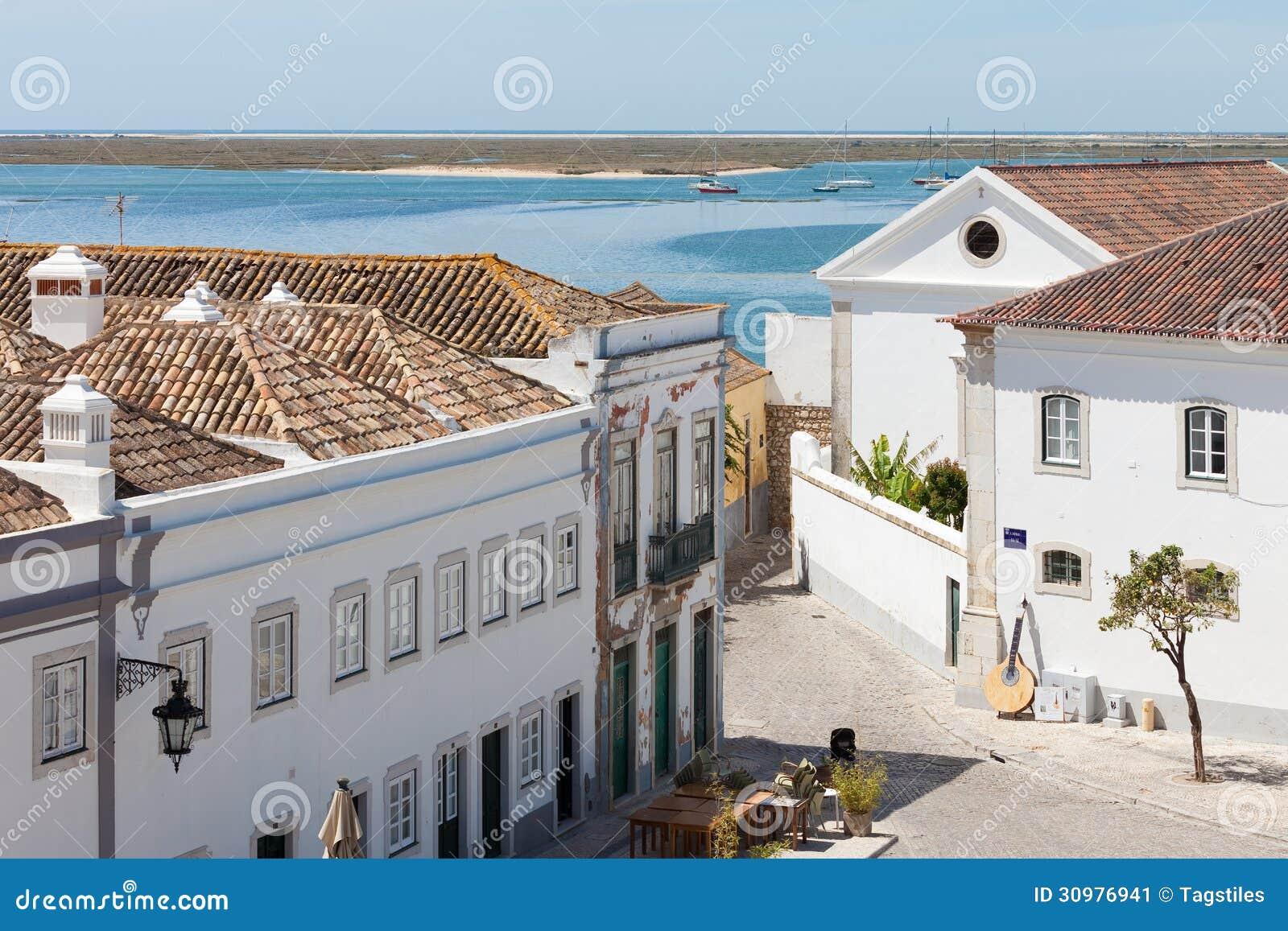 Download Portugal - Faro stockbild. Bild von küste, tranquility - 30976941
