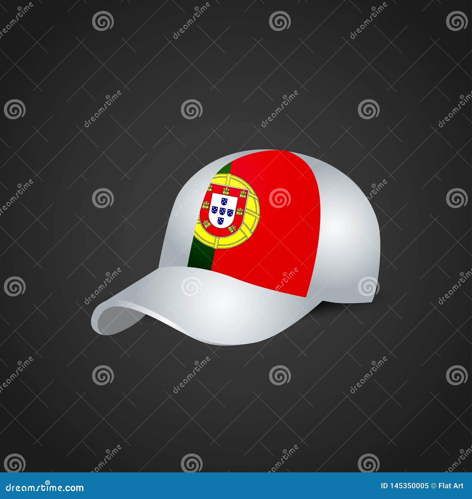 Portugal flagga på locket
