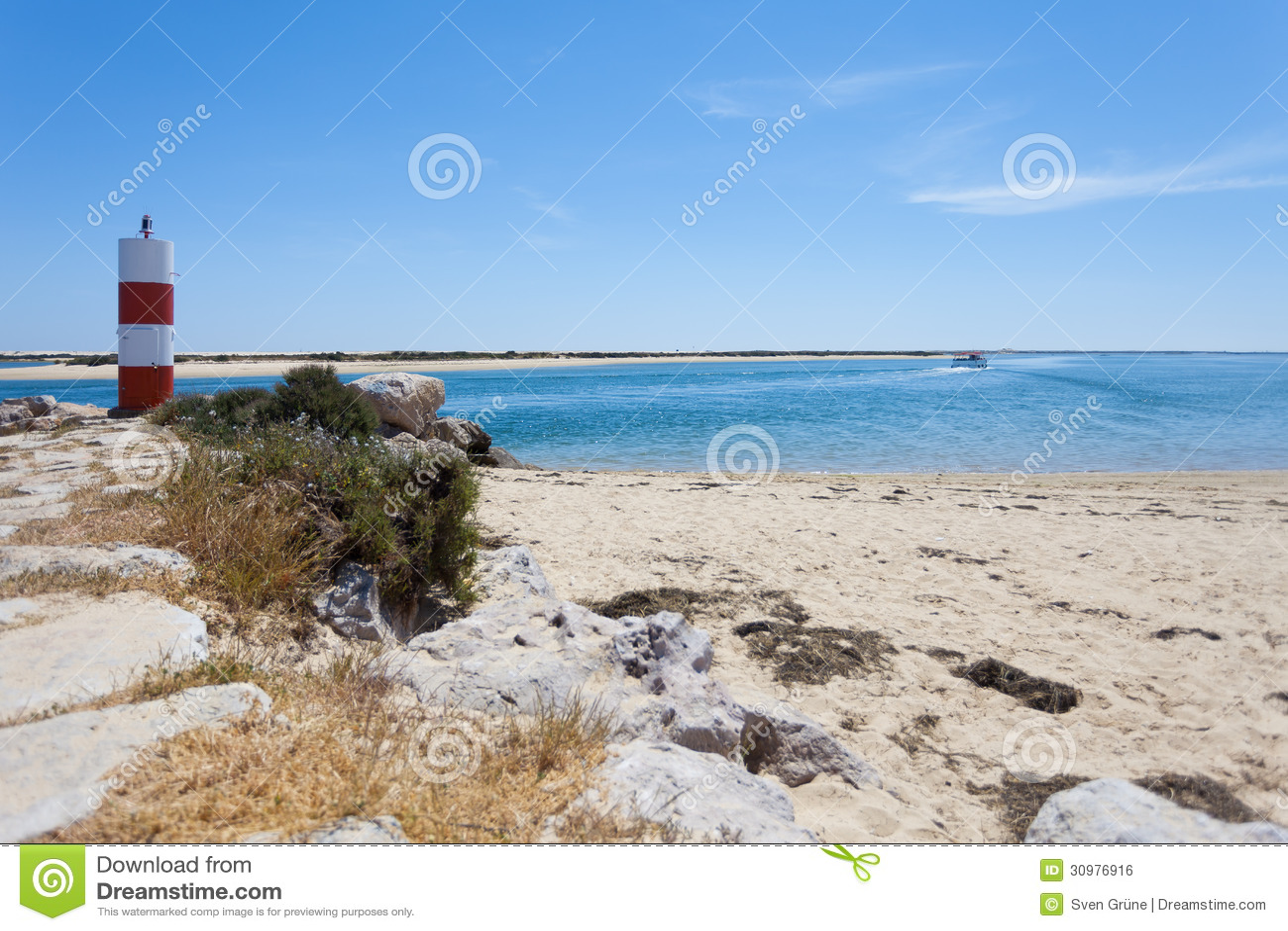 Download Portugal - Fuseta stockfoto. Bild von düne, frech, landschaft - 30976916
