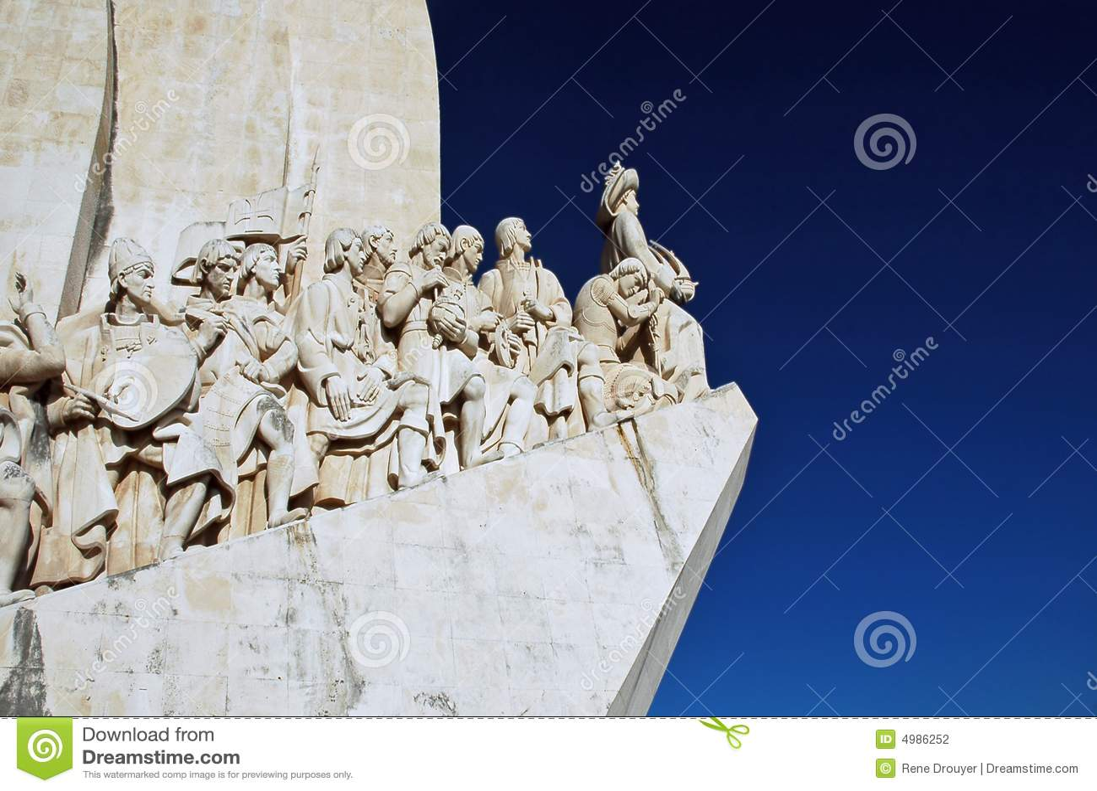 Portugal, Lisboa: Monumento a los descubrimientos