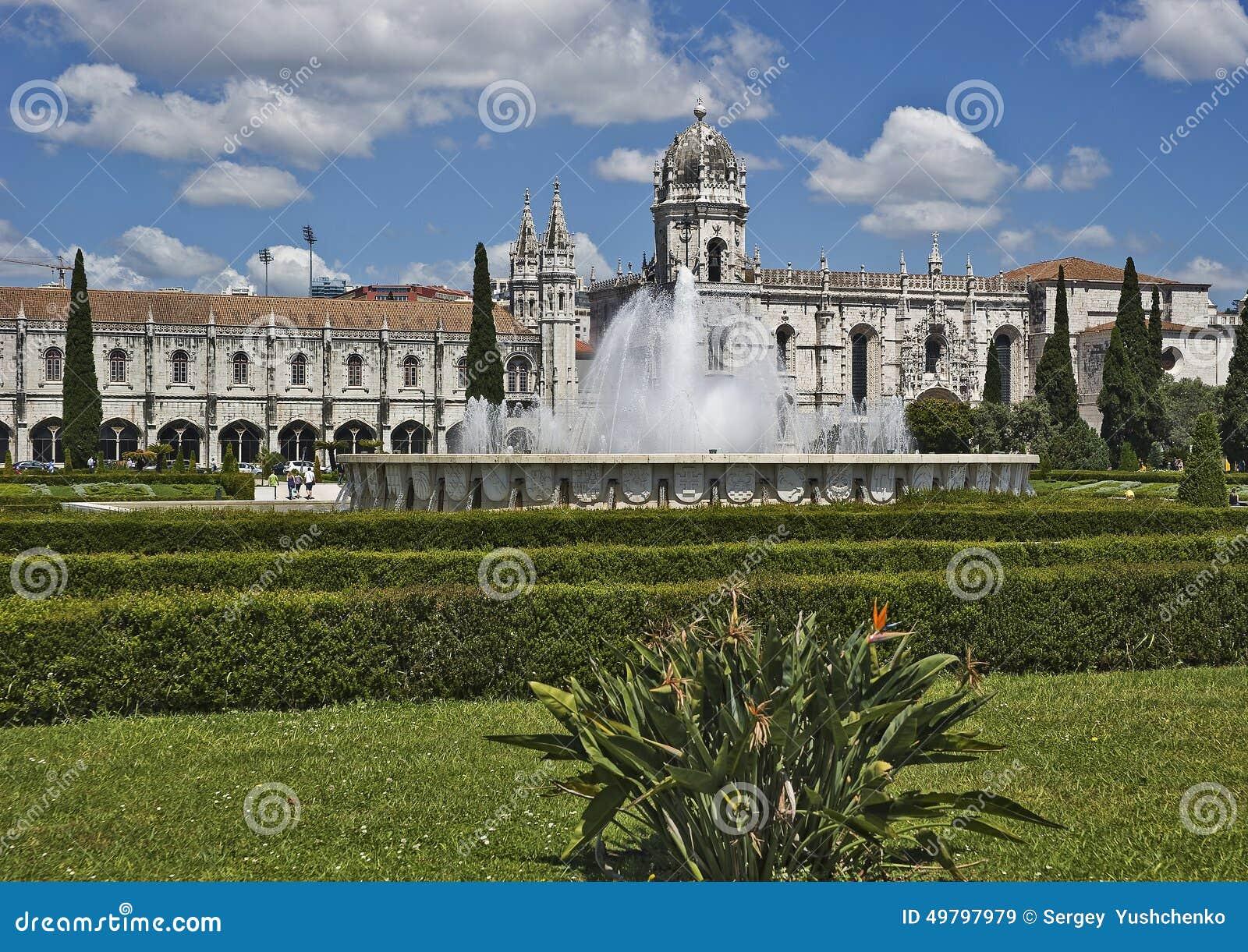 Portugal, Lissabon Jeronimos Kloster