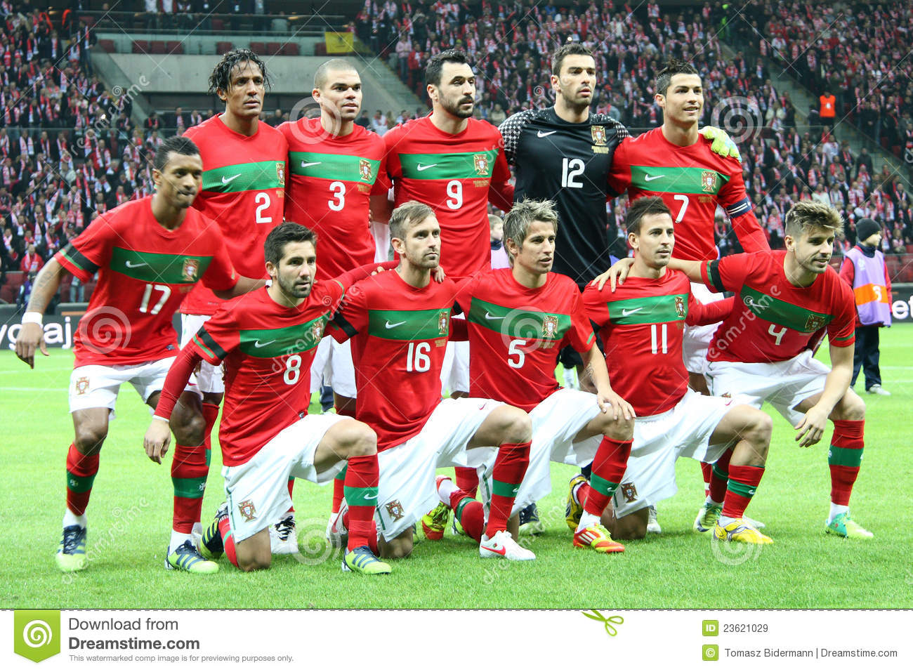 3b1f723d4c8 Portugal - National Football Team Editorial Stock Image - Image of ...