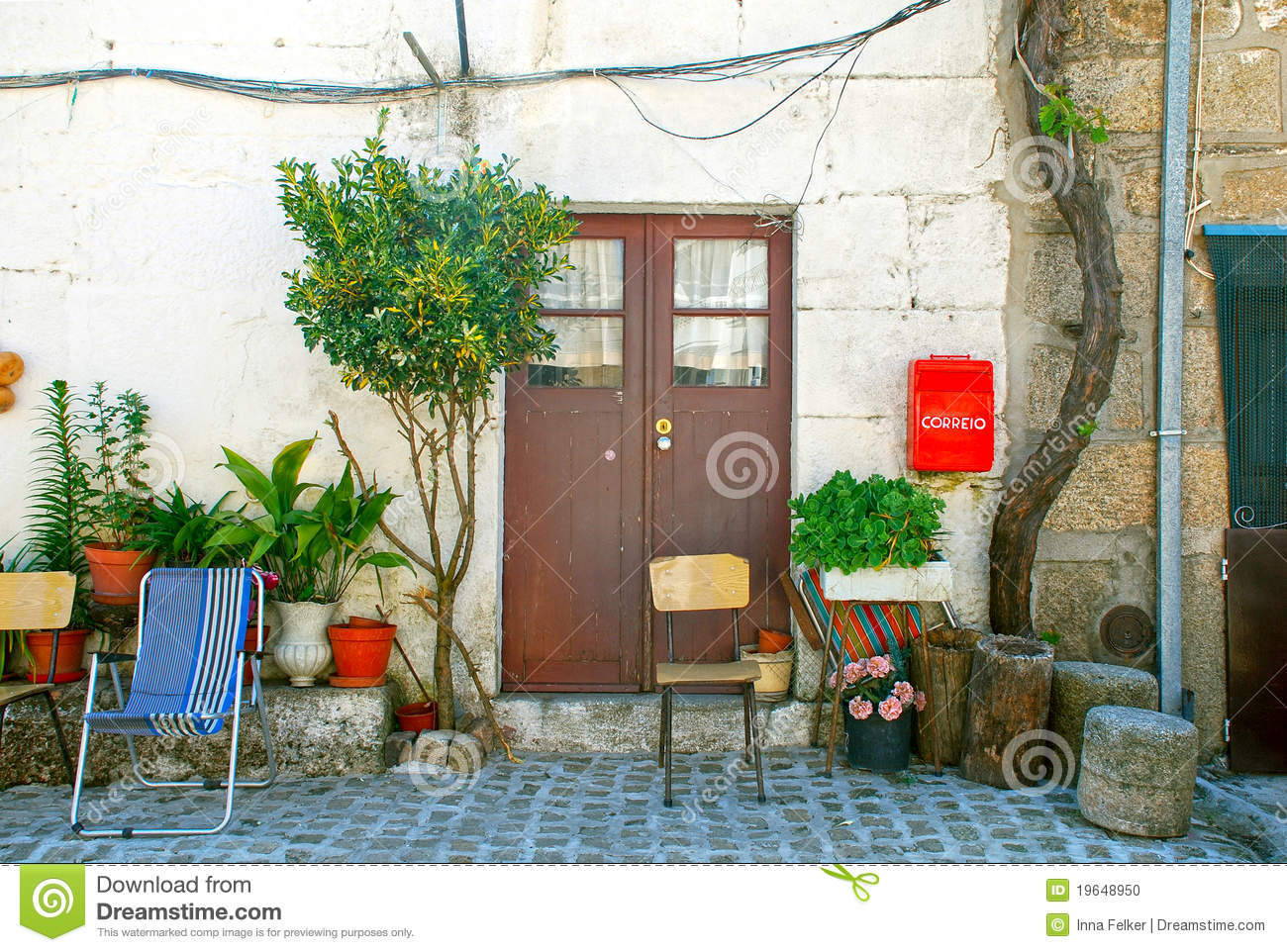 Portugal Old Village House Stock Photo Image 19648950