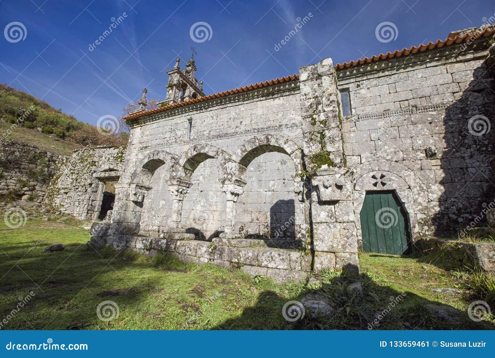 PORTUGAL - PITOES DAS JUNIAS MONASTERY, GERES - 5 DECEMBER