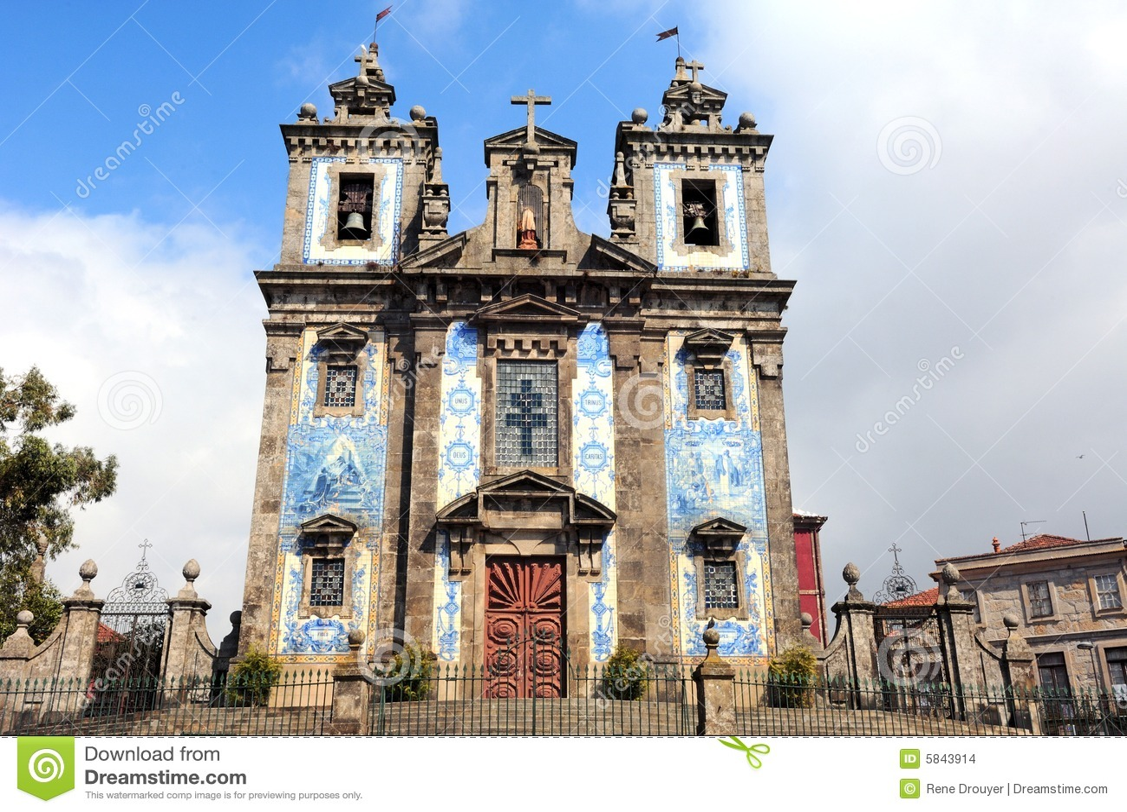 Portugal, Porto: Igreja de Santo Ildefonso