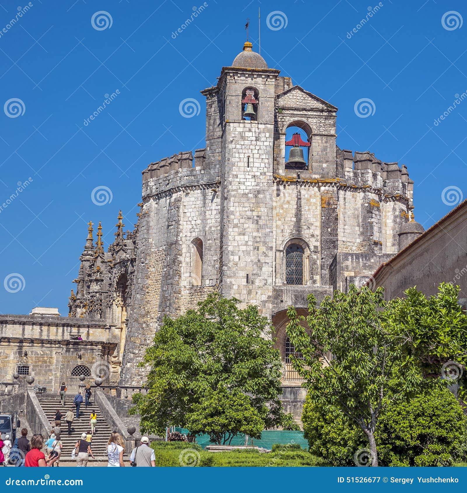 Portugal, Tomar, monasterio de la orden de Cristo