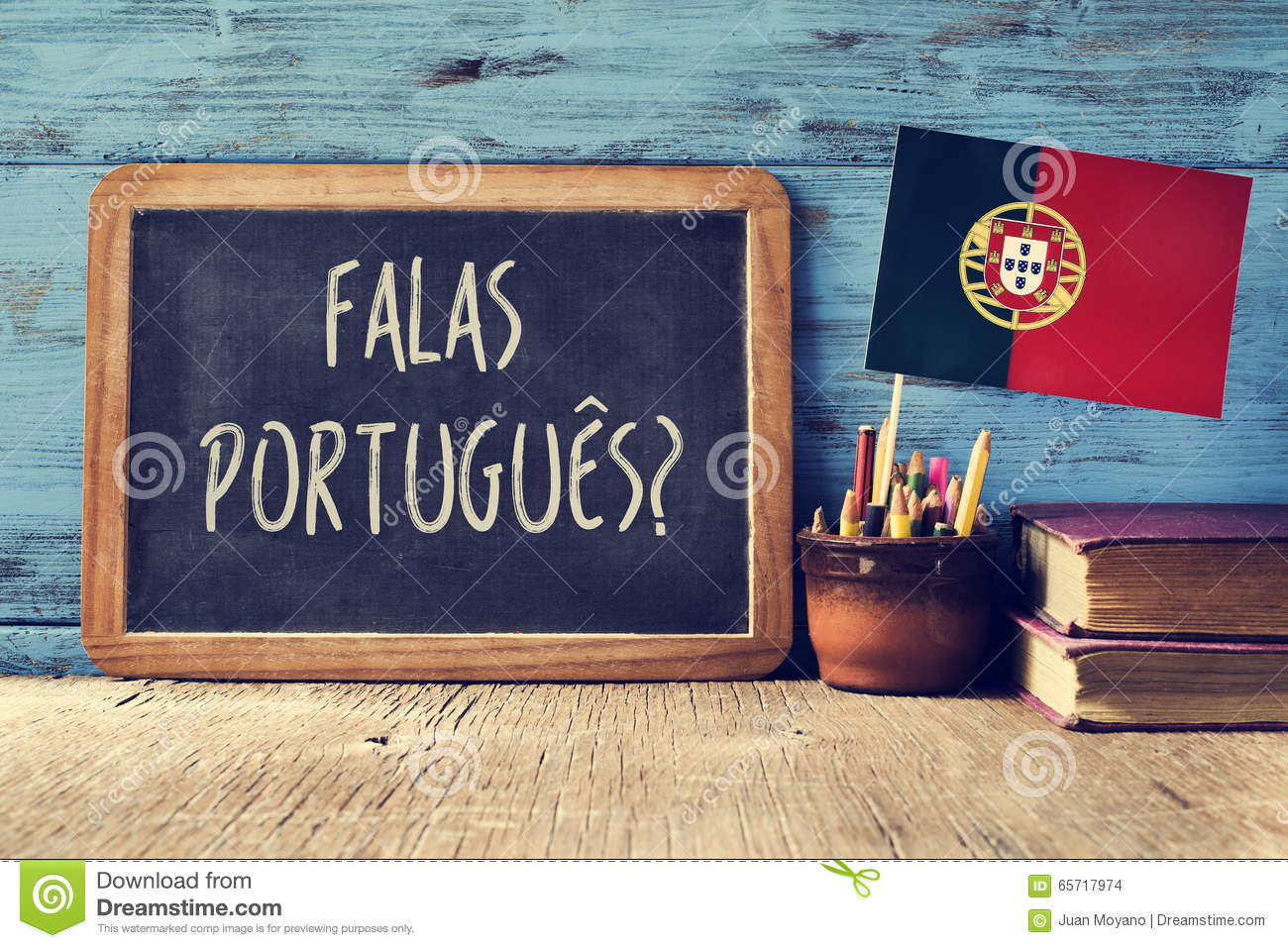 Bureau En Portugais : Portuges de falas de question ? parlez vous portugais ? photo stock