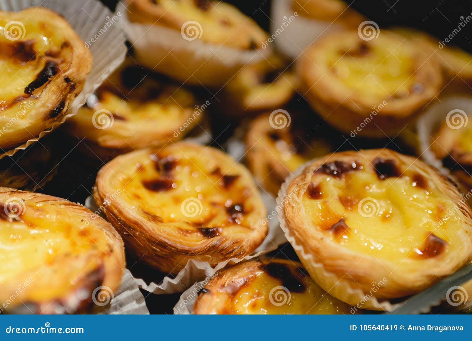 Portugese Eitaartjes Traditioneel Portugees Dessert Genoemd