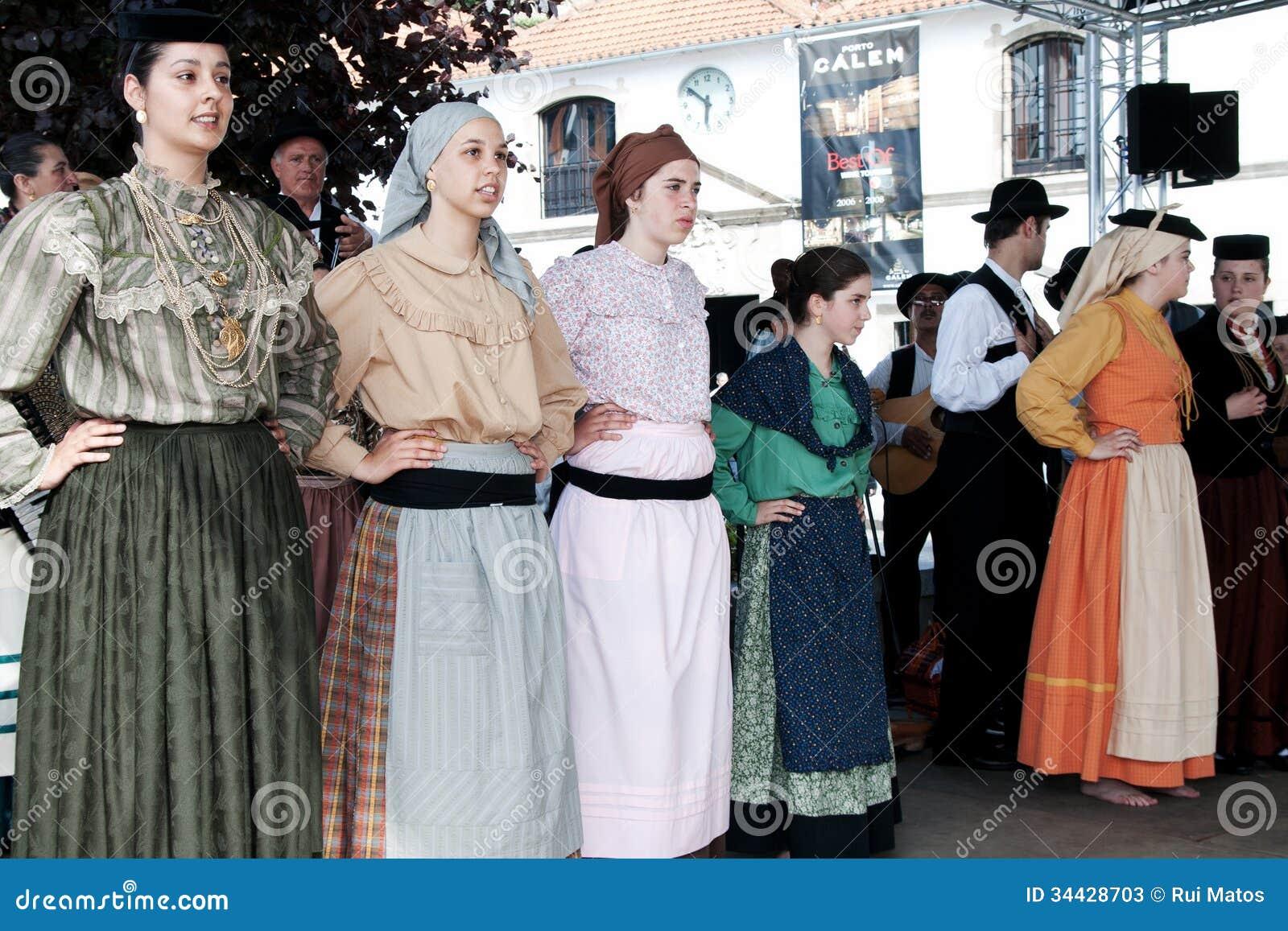 Portugiesische Folklore-Tänzer