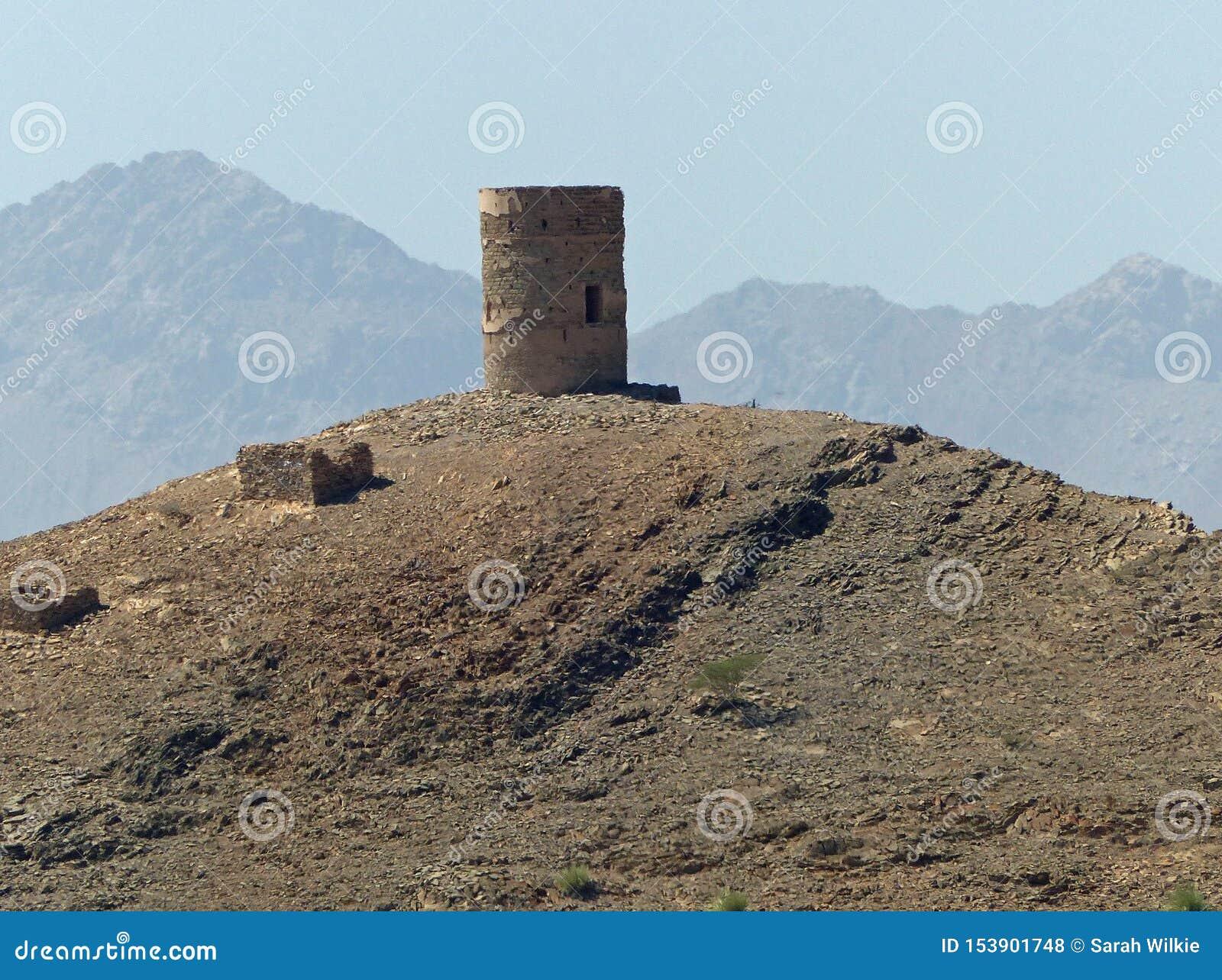 Portugiesischer Wachturm nahe Birkat-Al Mawz