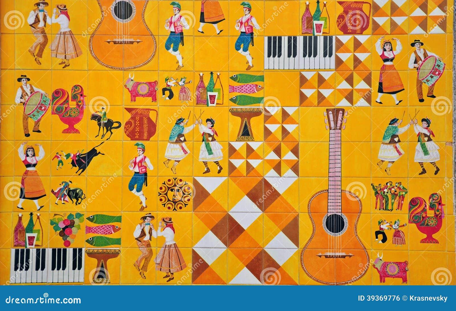 Portugisisk kultur i azulejos