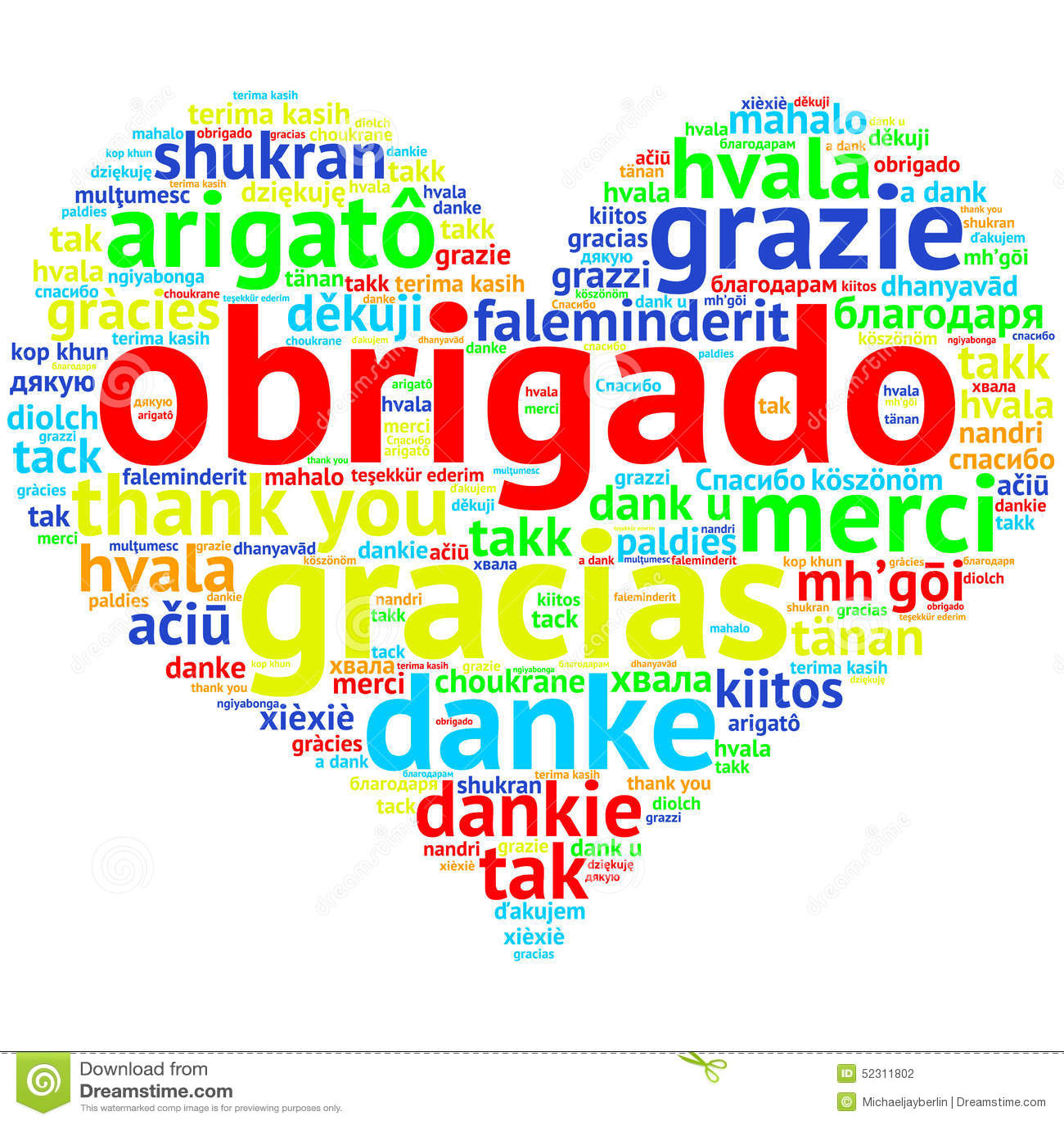 gracias en portuges